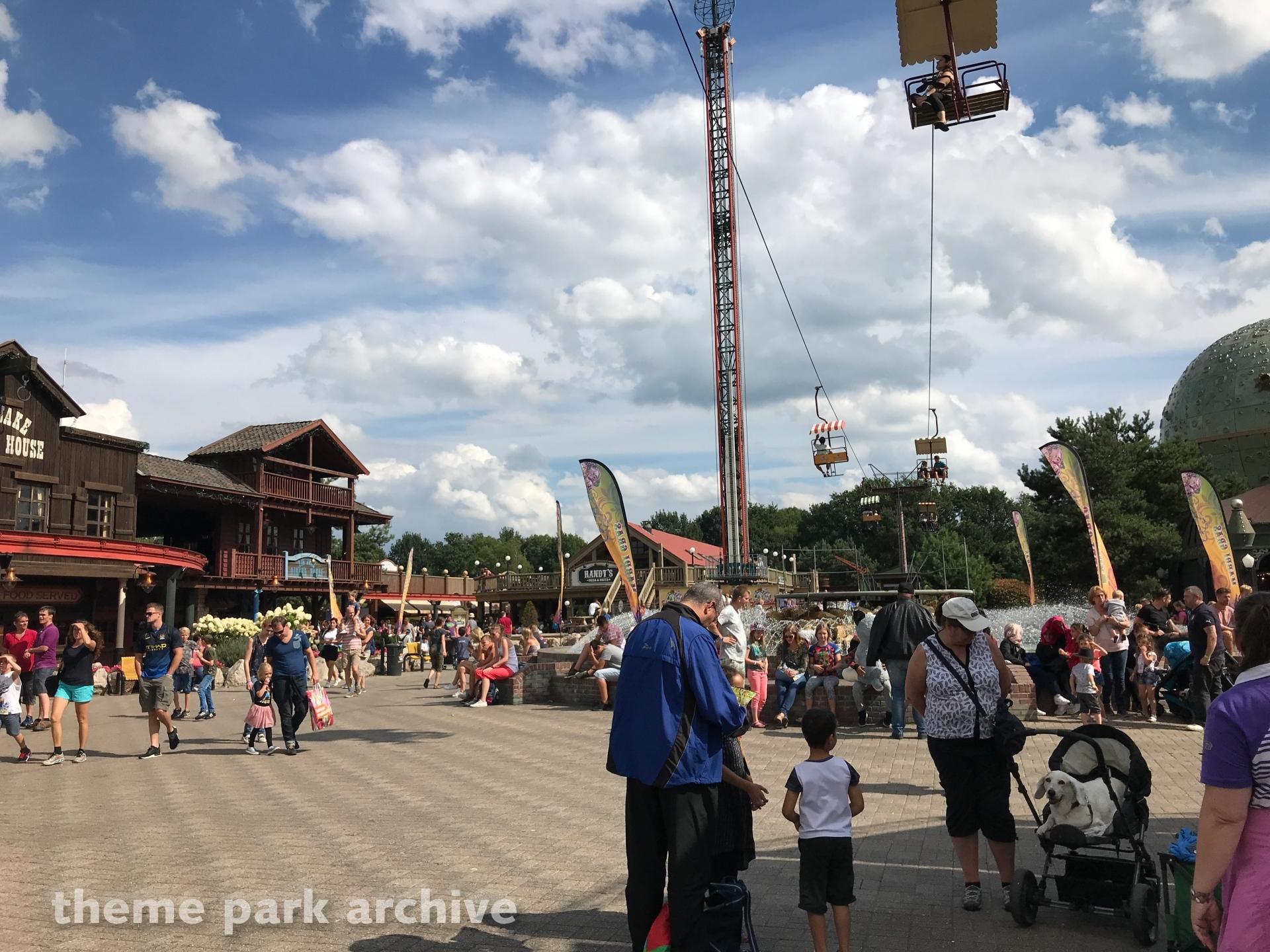 Cable Car at Attractiepark Slagharen