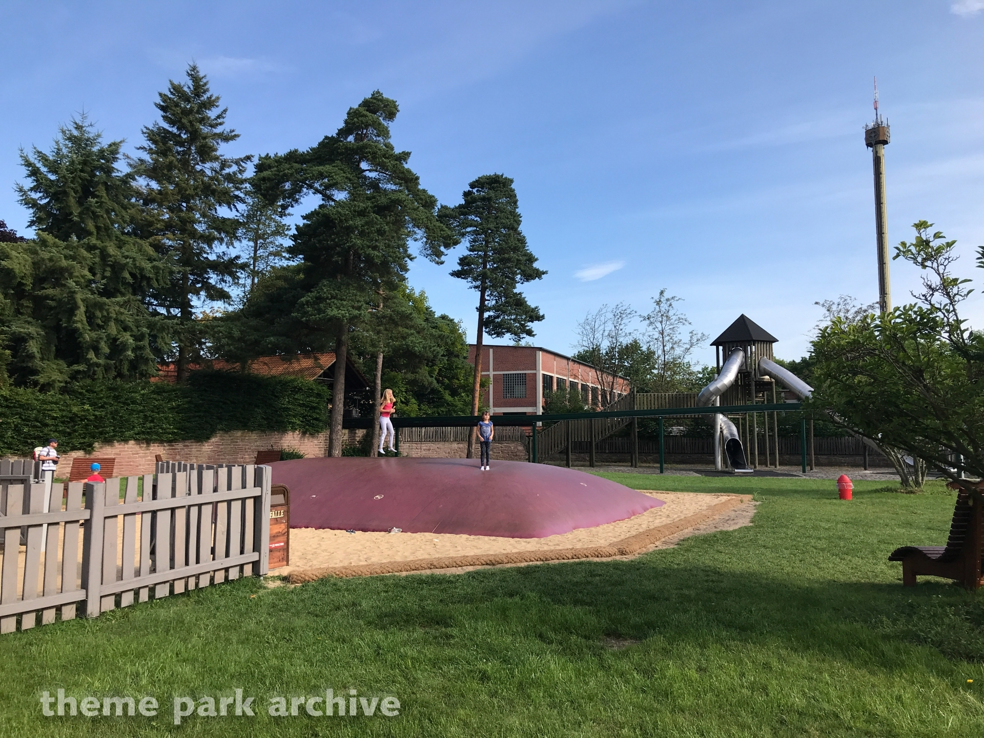 Hupfkissen at Heide Park