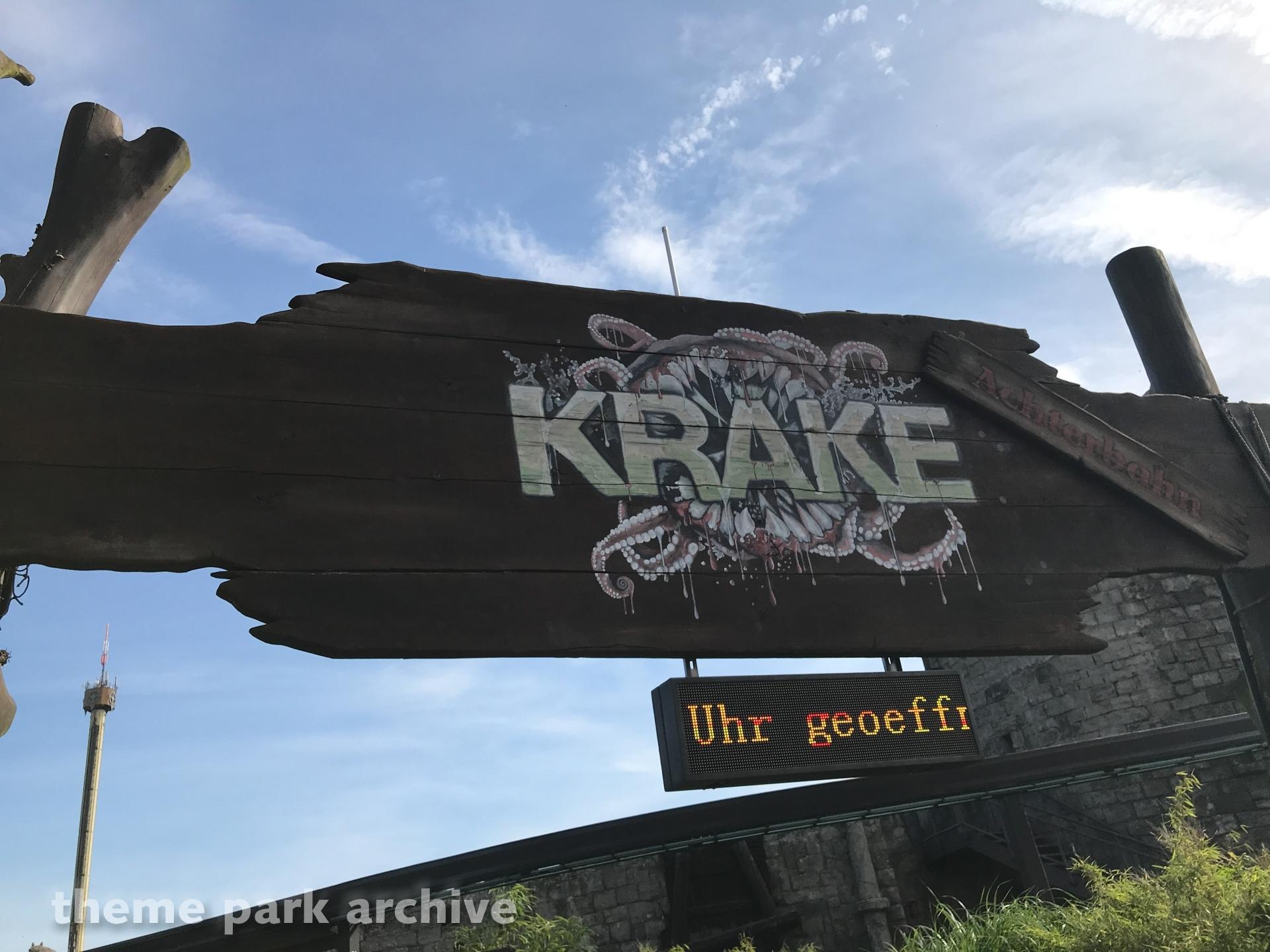 Krake at Heide Park