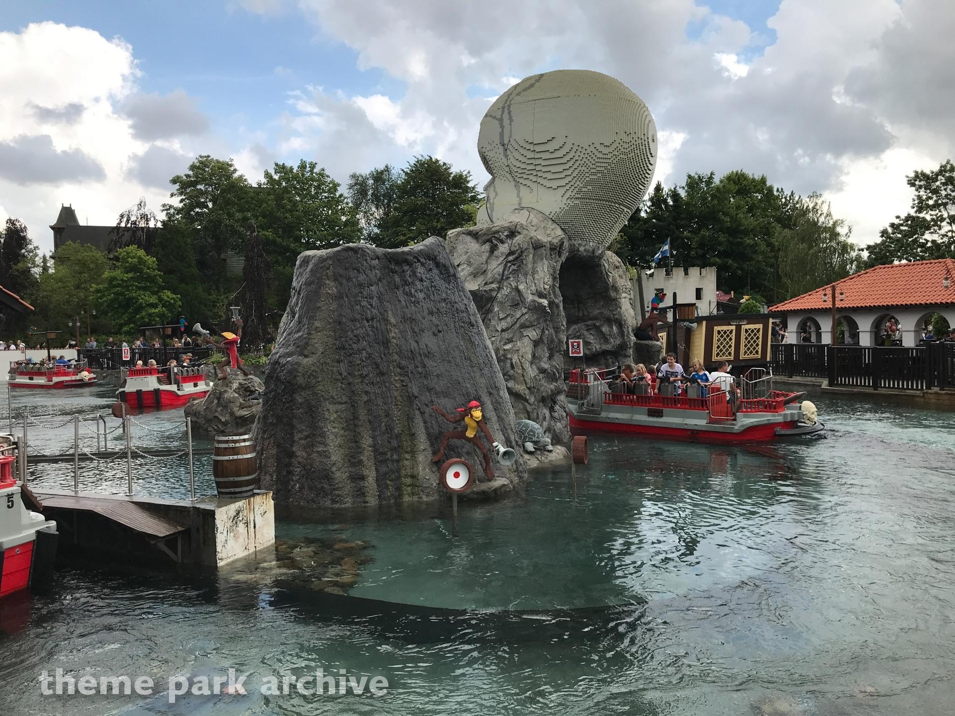 Pirate Splash Battle at LEGOLAND Billund