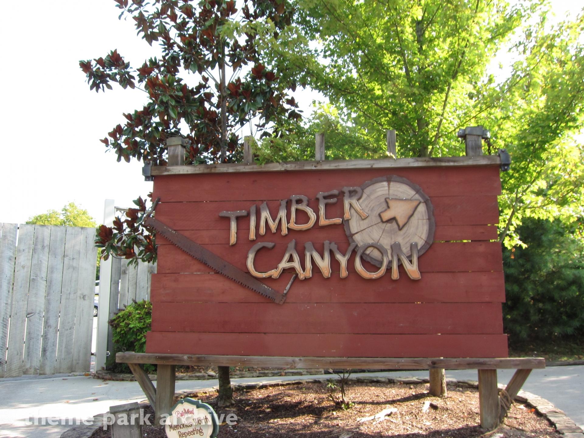 Timber Canyon at Dollywood