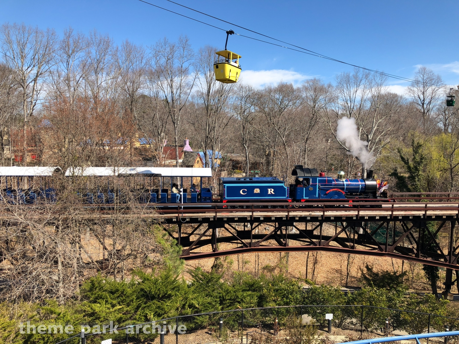 Busch Gardens Railway at Busch Gardens Williamsburg