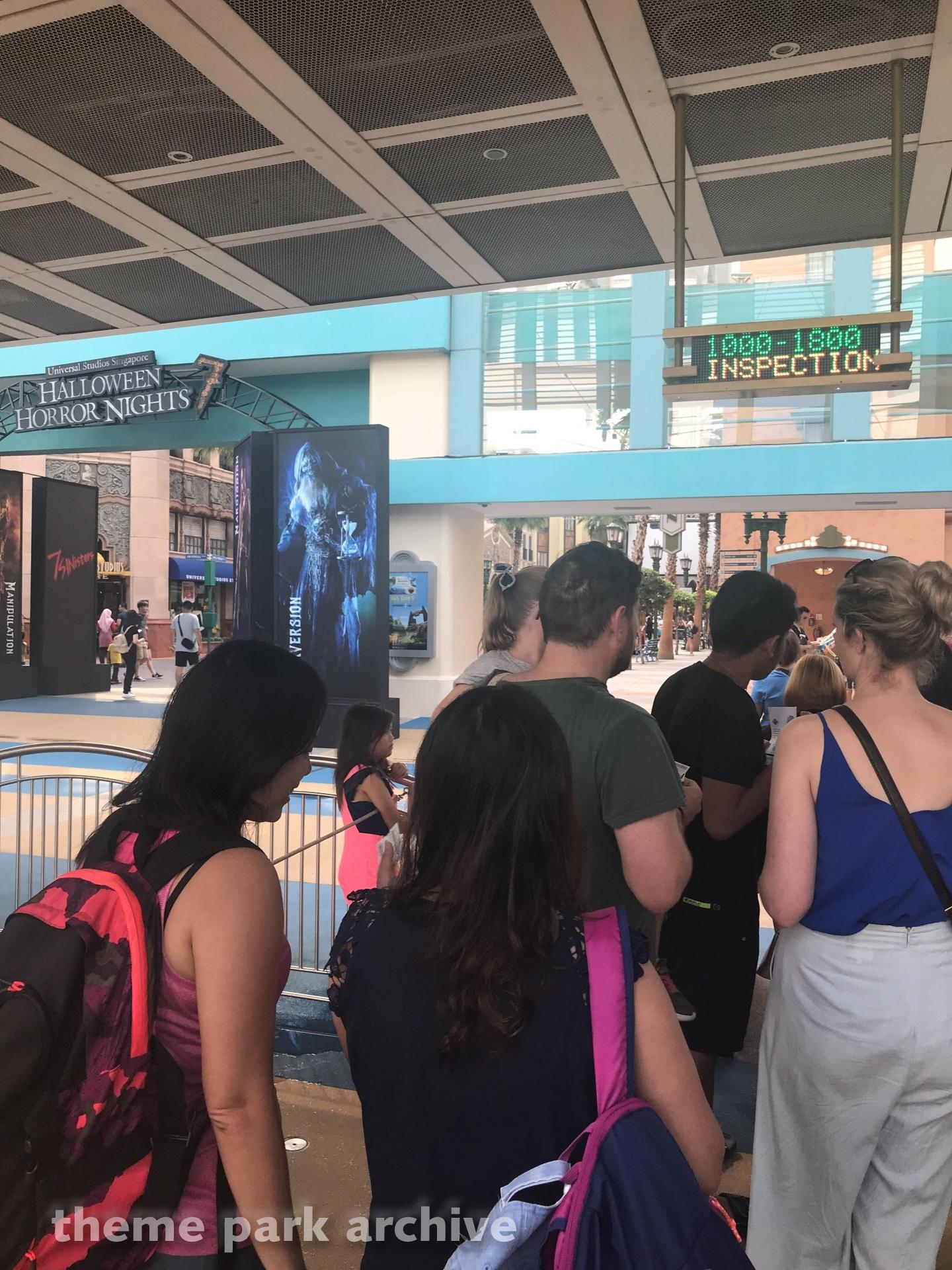 Entrance at Universal Studios Singapore