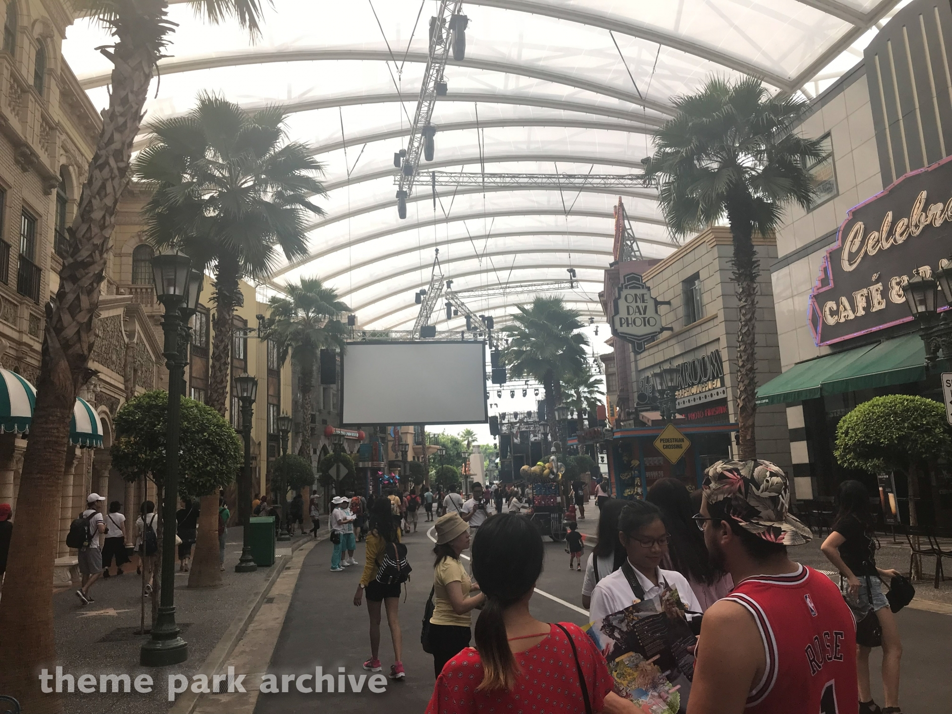 Hollywood at Universal Studios Singapore