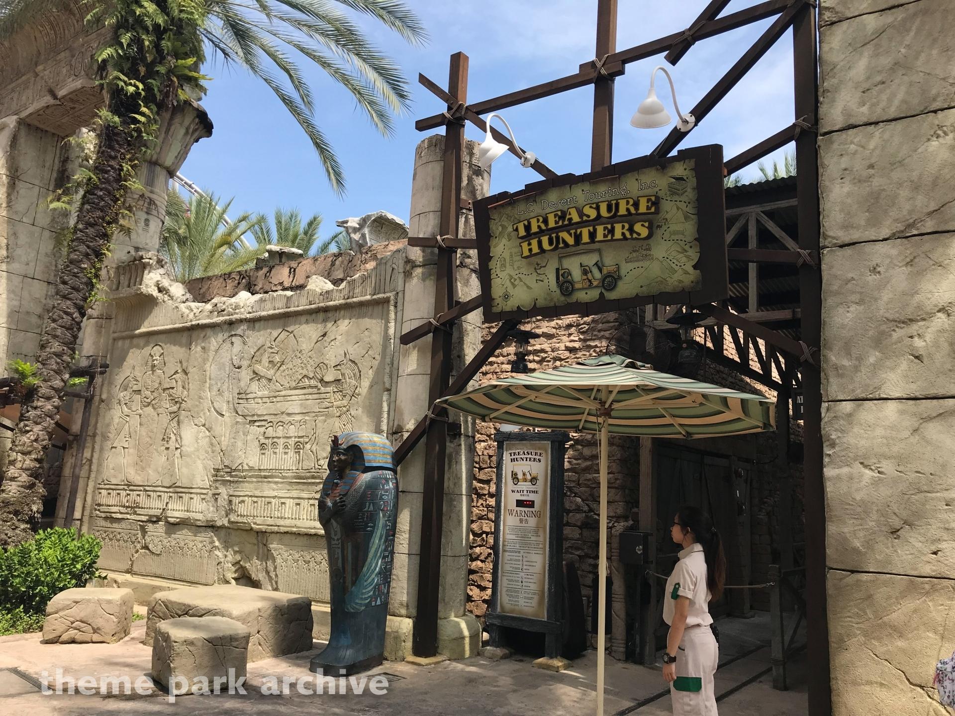 Treasure Hunters at Universal Studios Singapore