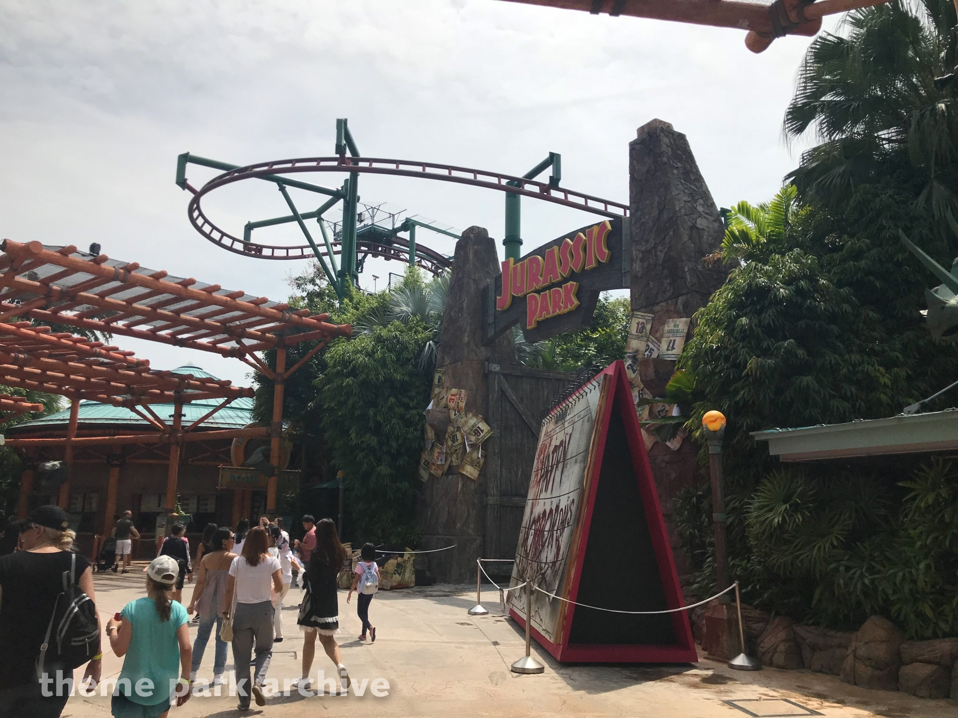 The Lost World at Universal Studios Singapore
