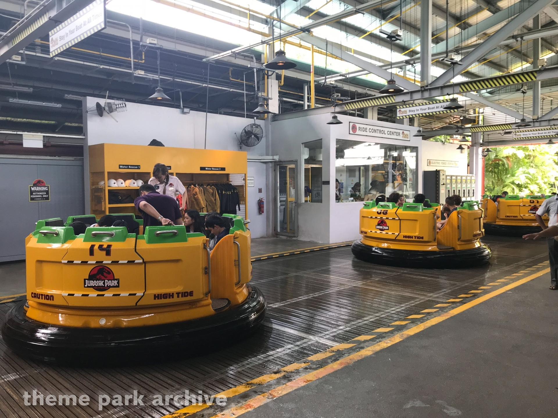 Jurassic Park Rapids Adventure at Universal Studios Singapore