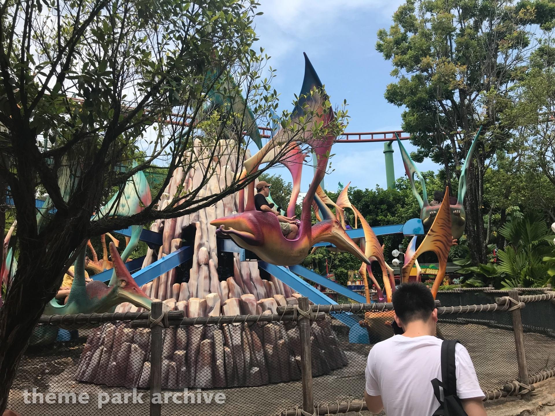 Dino Soarin at Universal Studios Singapore