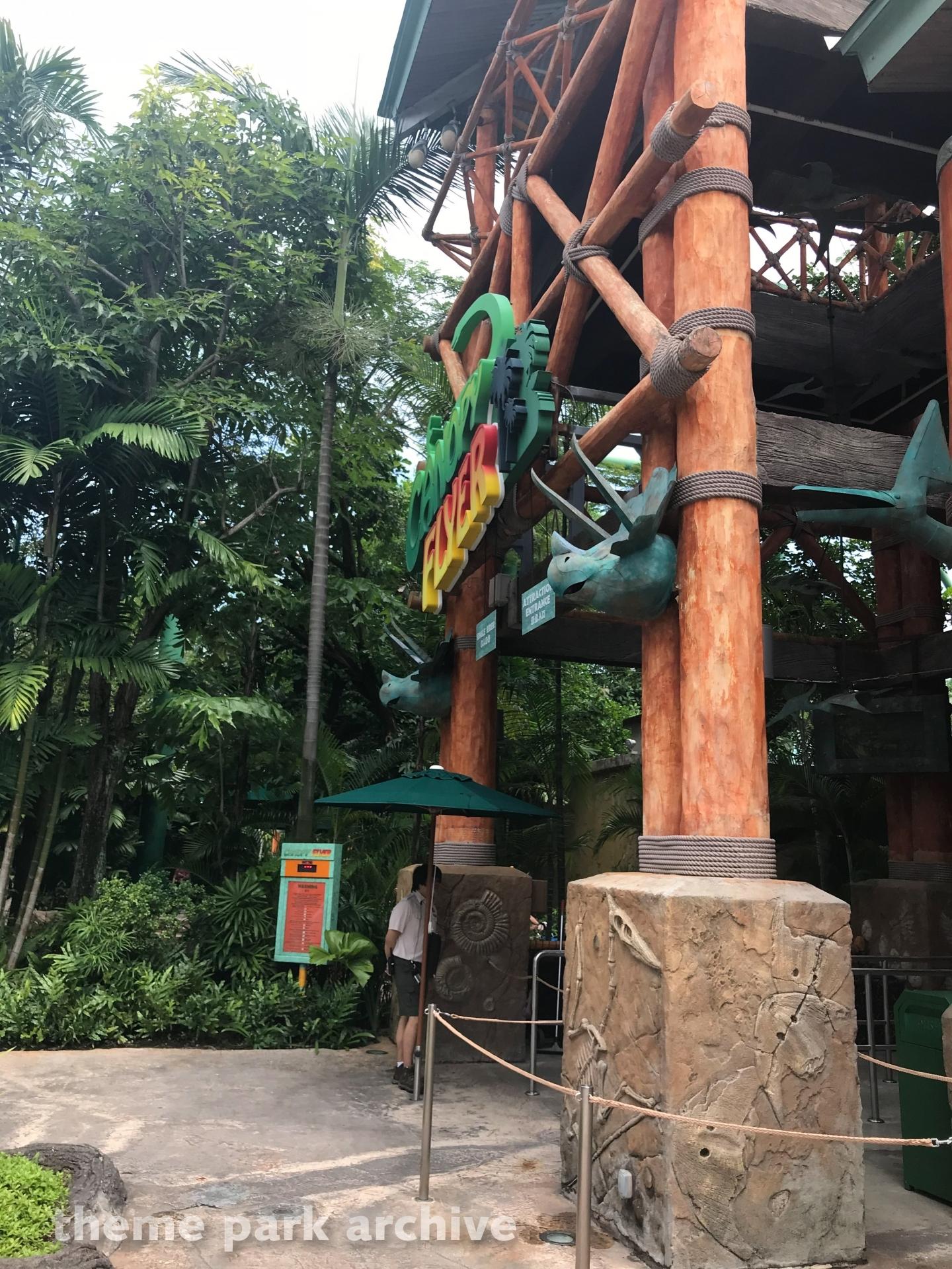 Canopy Flyer at Universal Studios Singapore