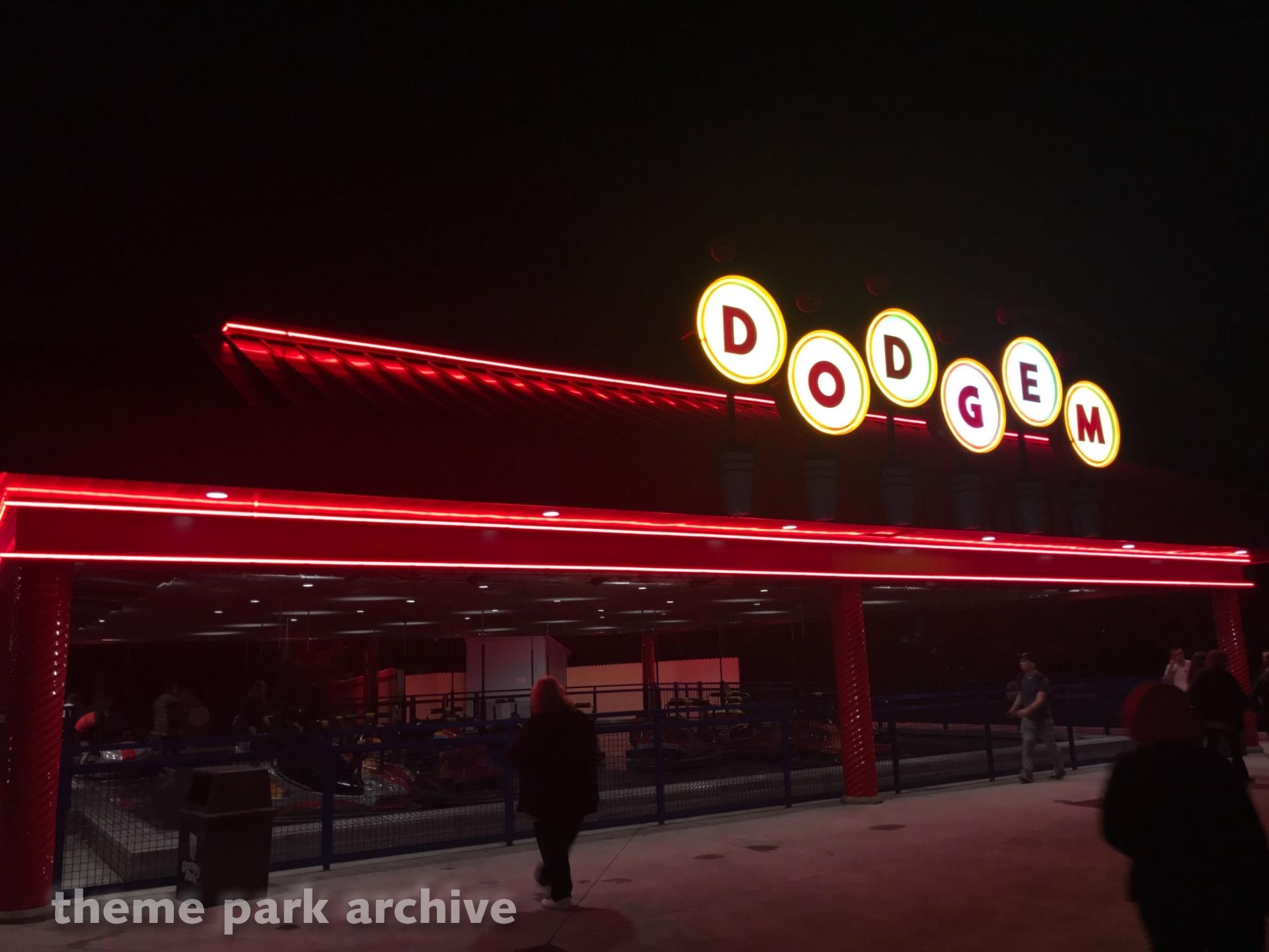Dodgem at Dorney Park