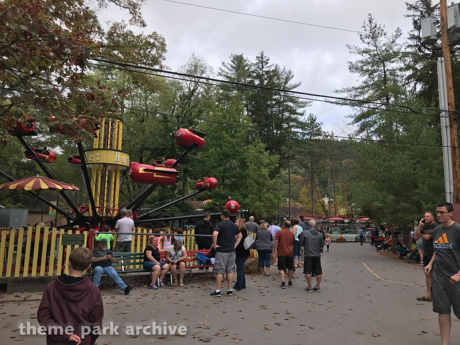 Roto Jets at Knoebels Amusement Resort