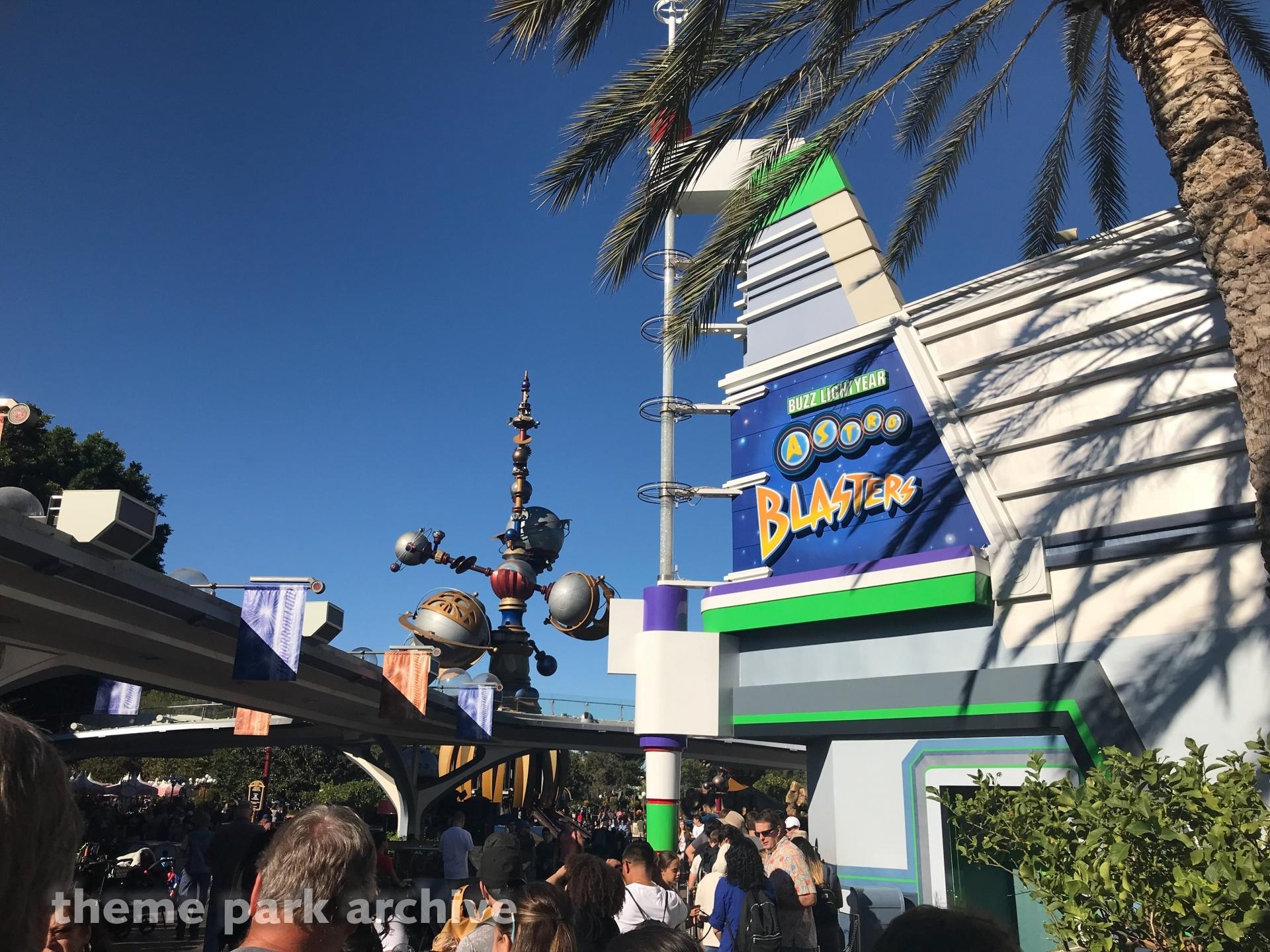 Buzz Lightyear Astro Blasters at Disneyland