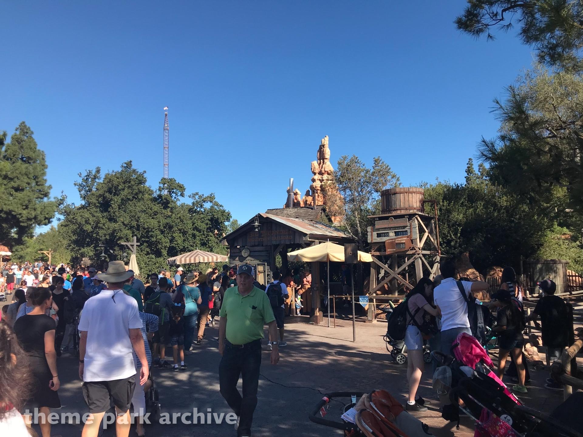 Frontierland at Disneyland