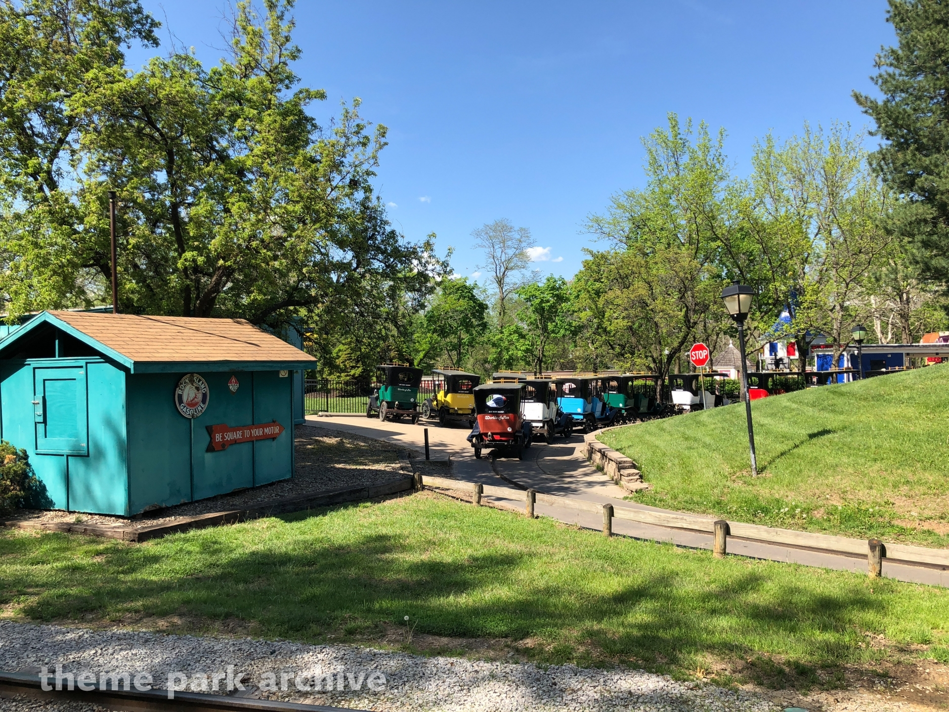 Le Taxitour at Worlds of Fun