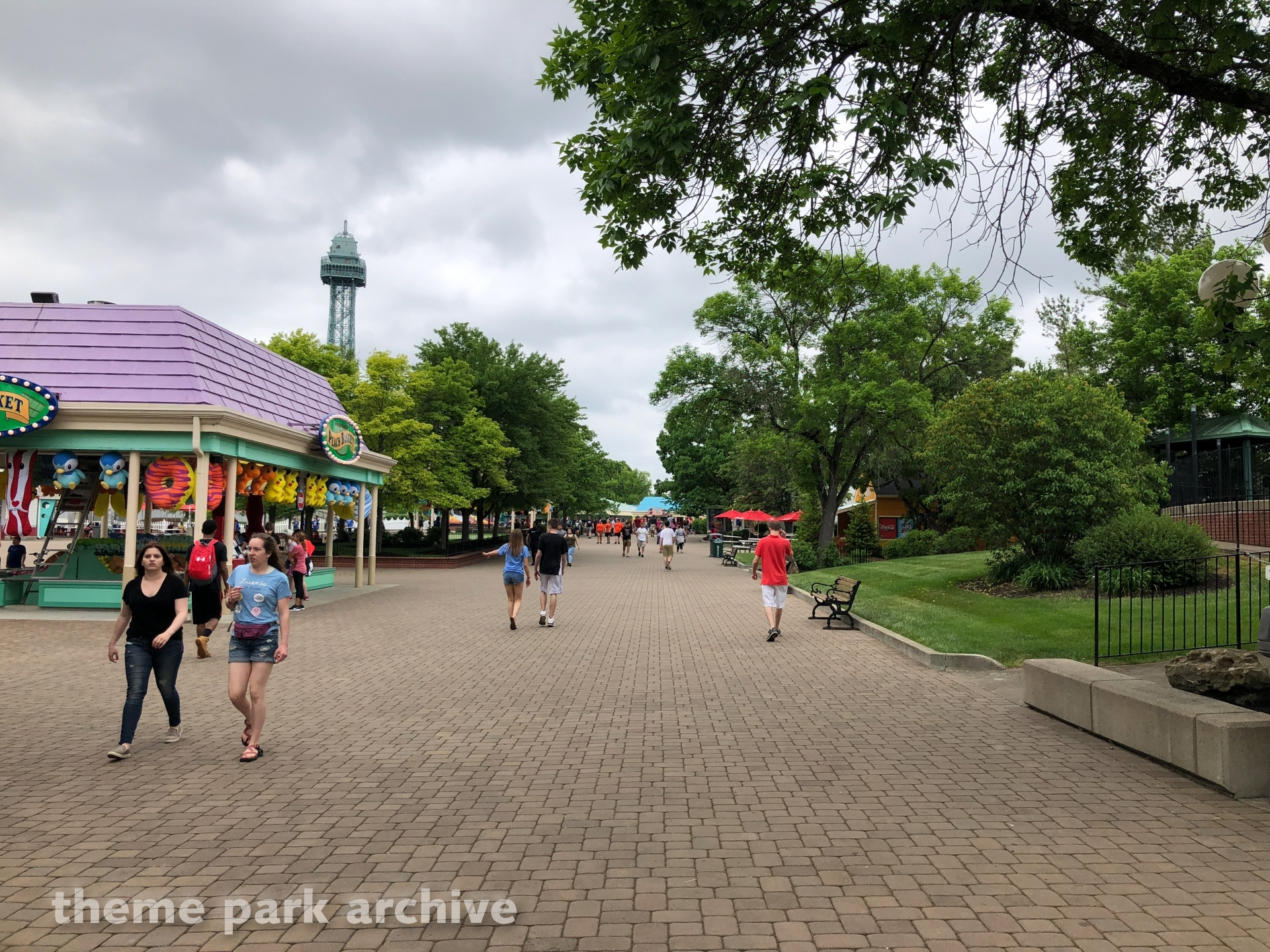 Coney Mall at Kings Island