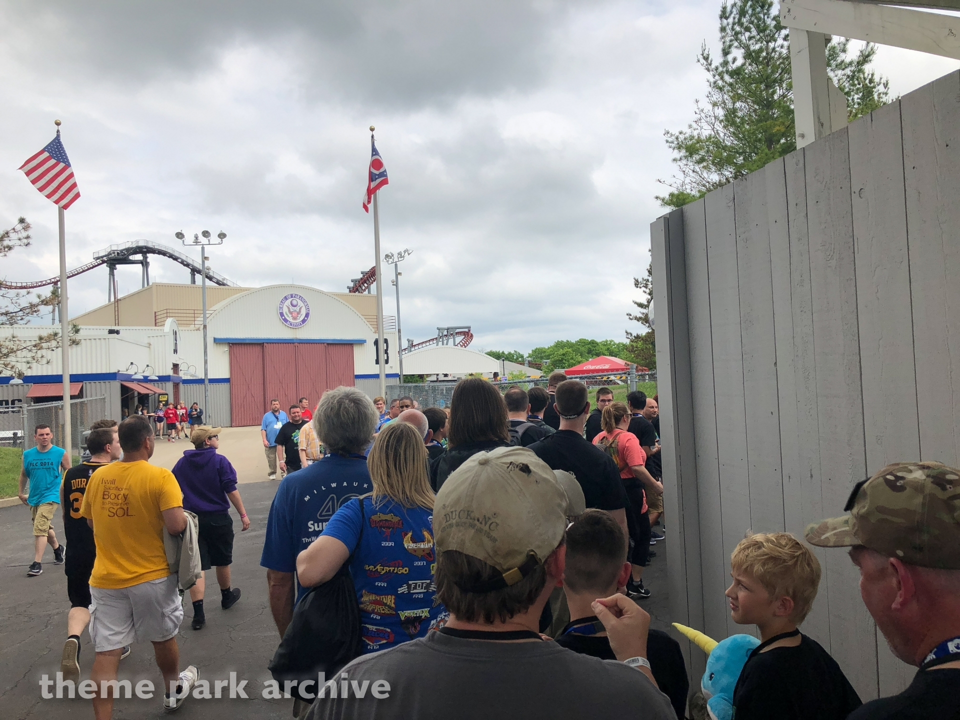Flight of Fear at Kings Island