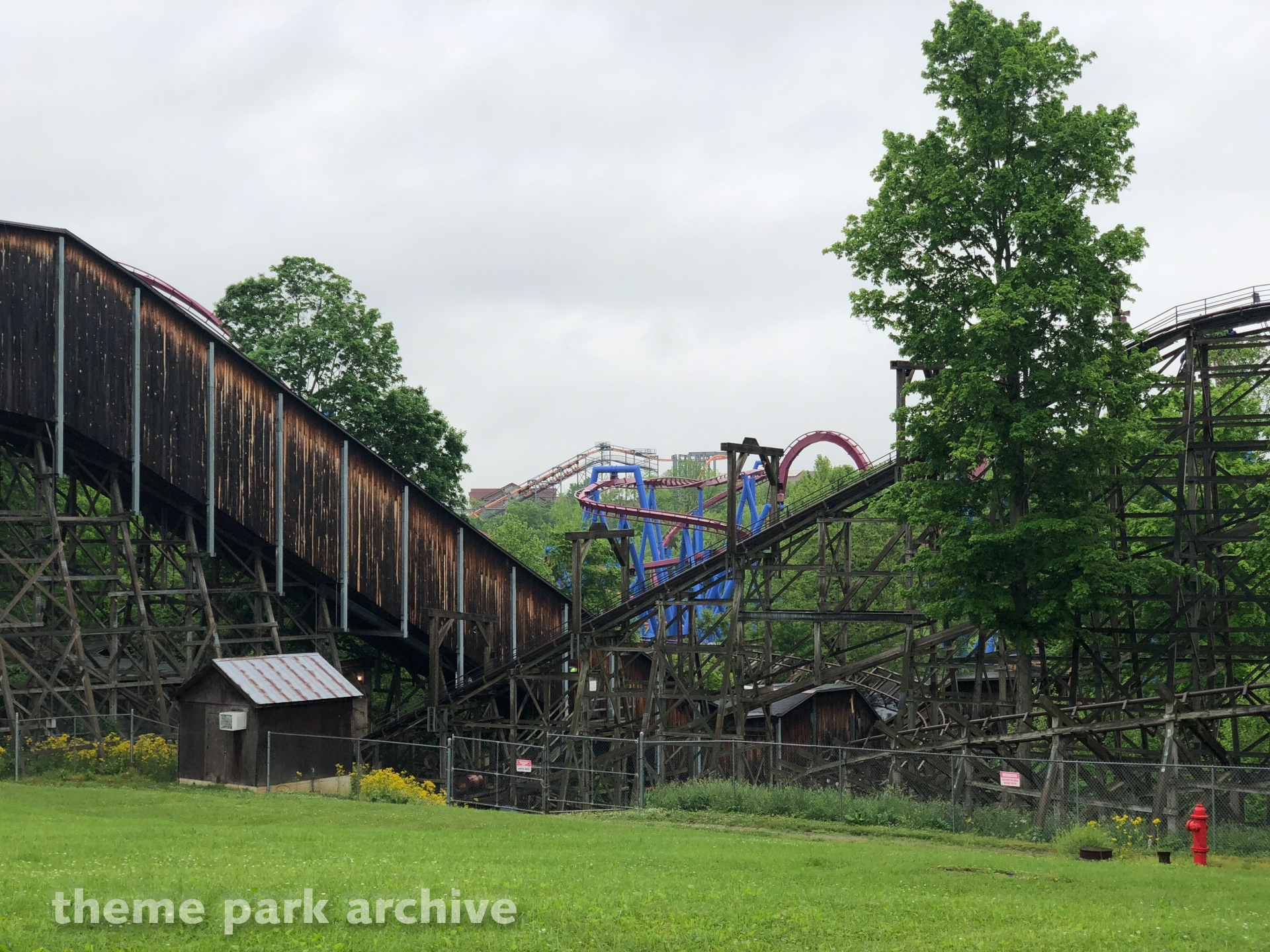 Adventure Express at Kings Island  Theme Park Archive