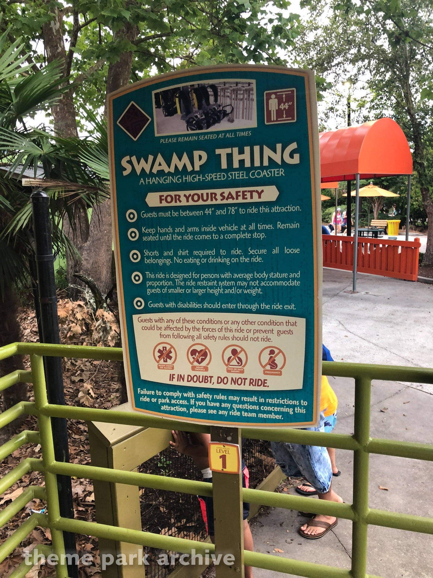 Swamp Thing at Wild Adventures