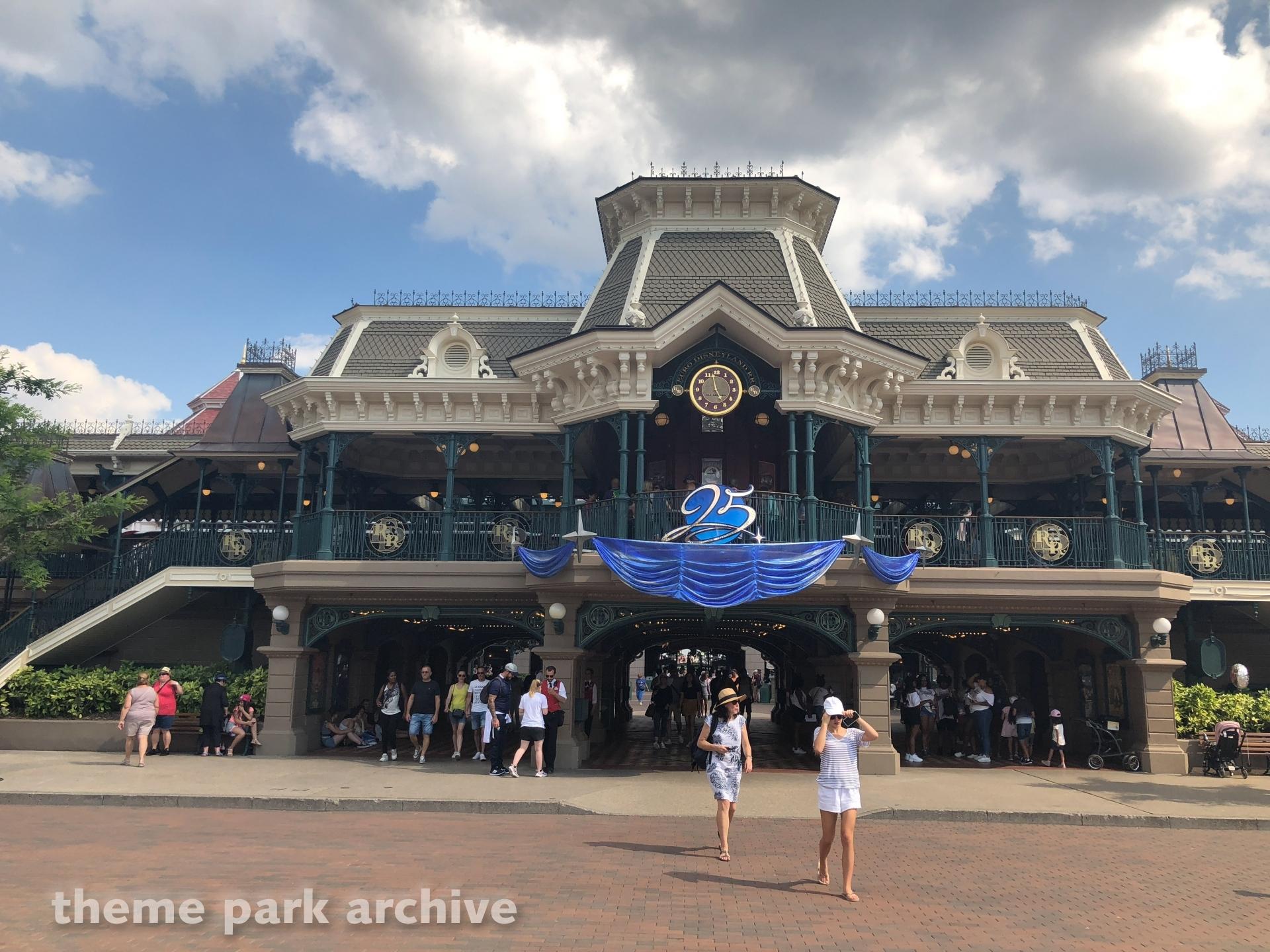 Entrance at Disneyland Paris