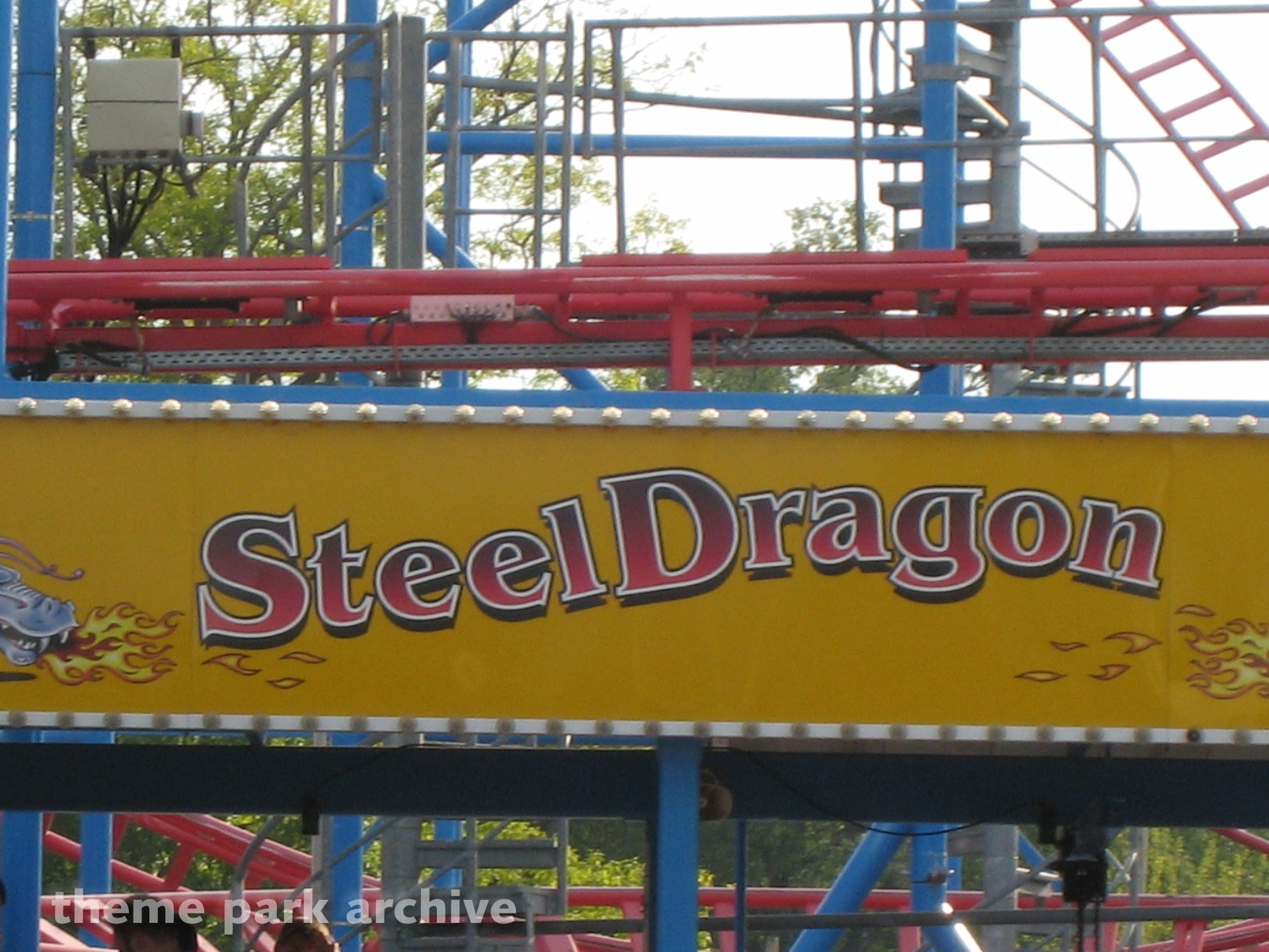 Steel Dragon at Waldameer Park