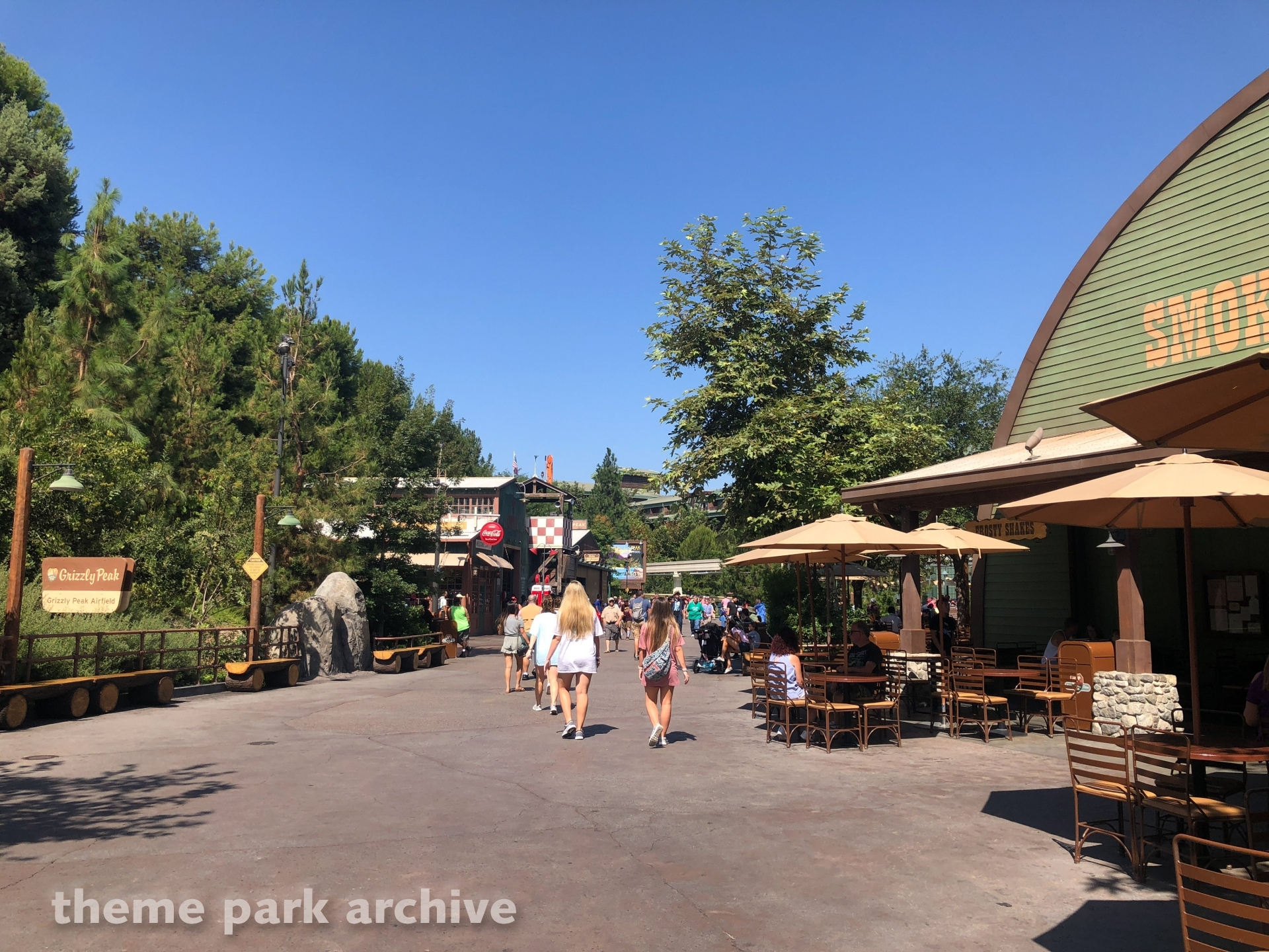 Grizzly Peak Airfield at Disney California Adventure