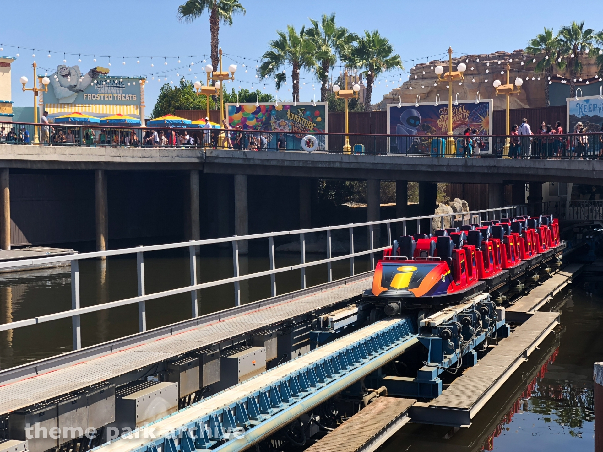Incredicoaster at Disney California Adventure