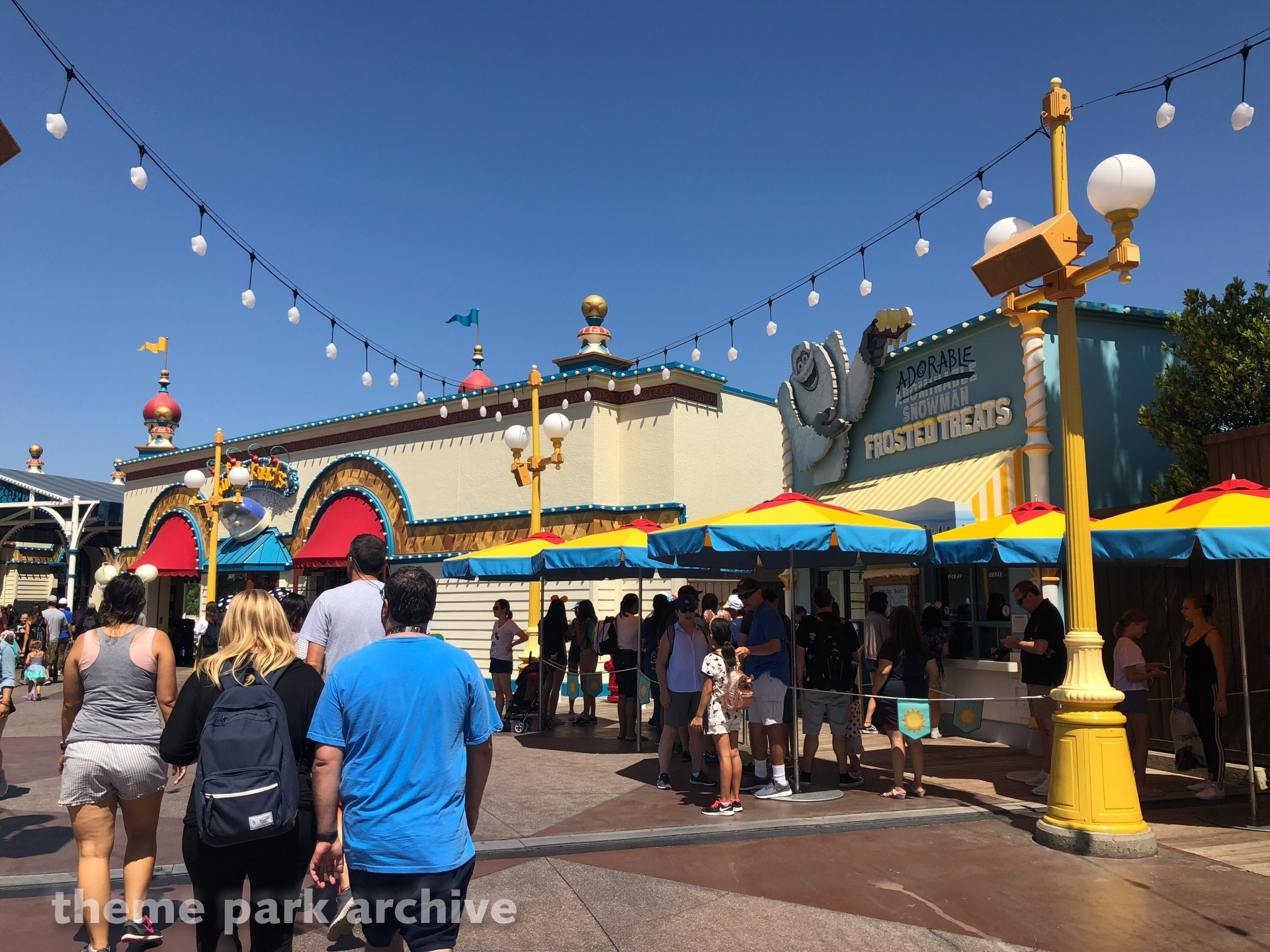 Pixar Pier at Disney California Adventure