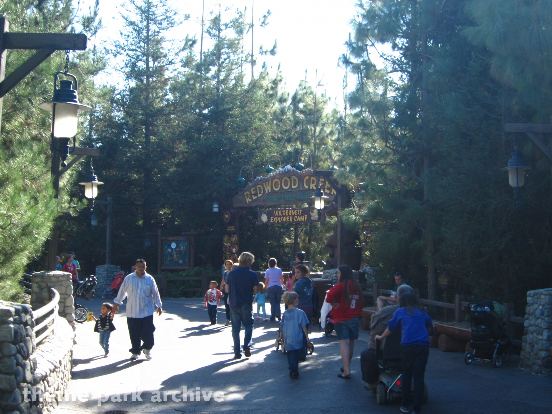 Redwood Creek Challenge Trail at Disney California Adventure