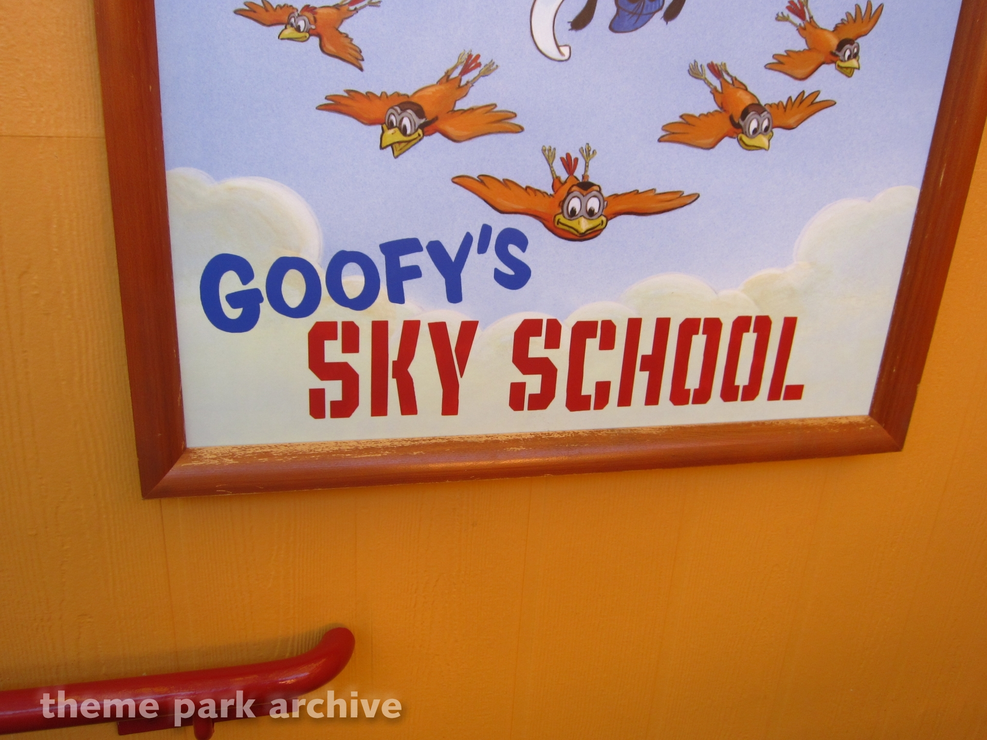 Goofy's Sky School at Disney California Adventure