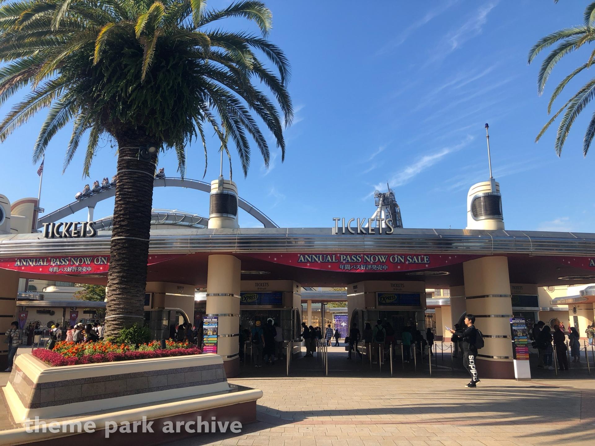 Entrance at Universal Studios Japan