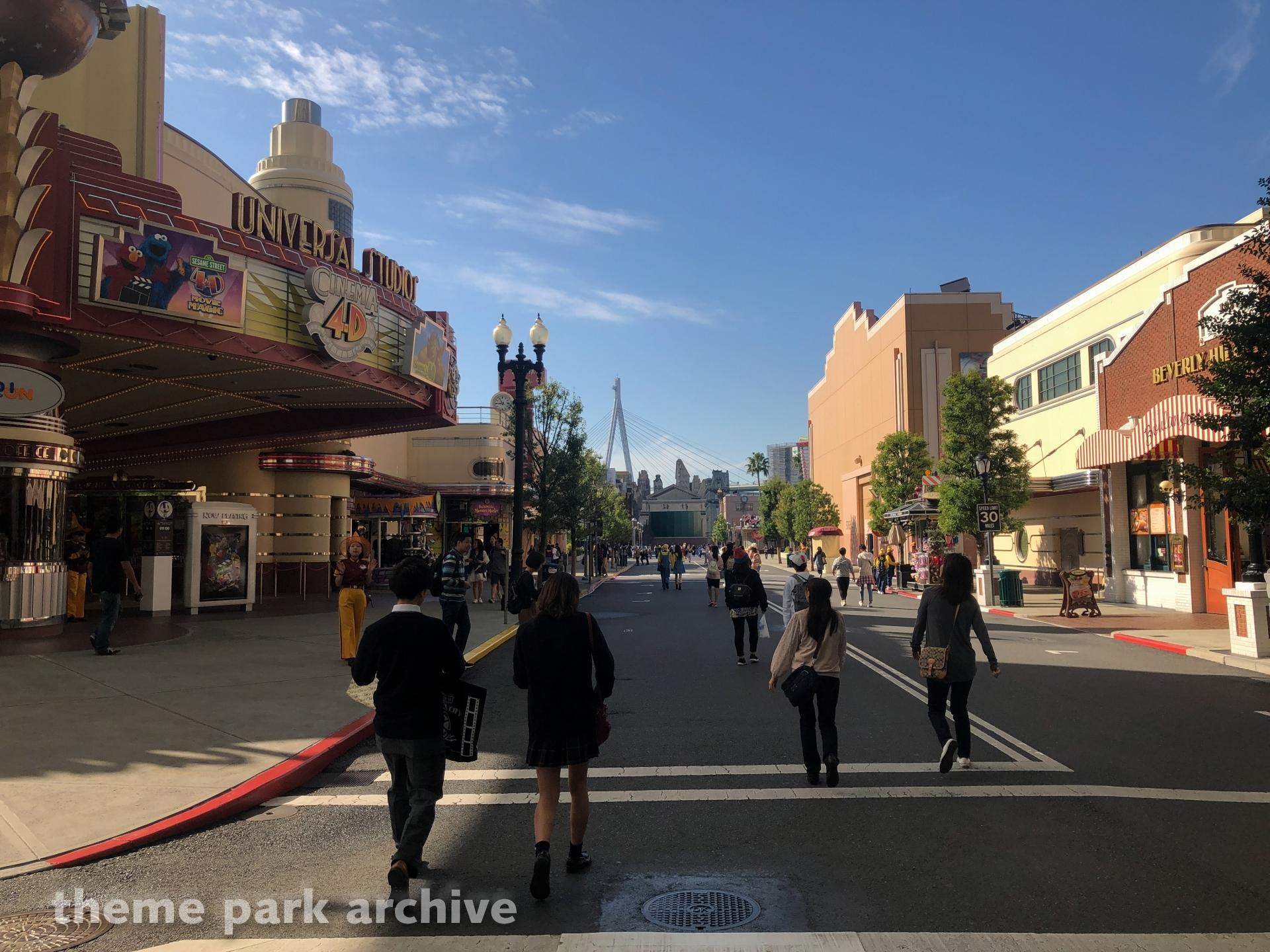 Sesame Street 4D Movie Magic at Universal Studios Japan