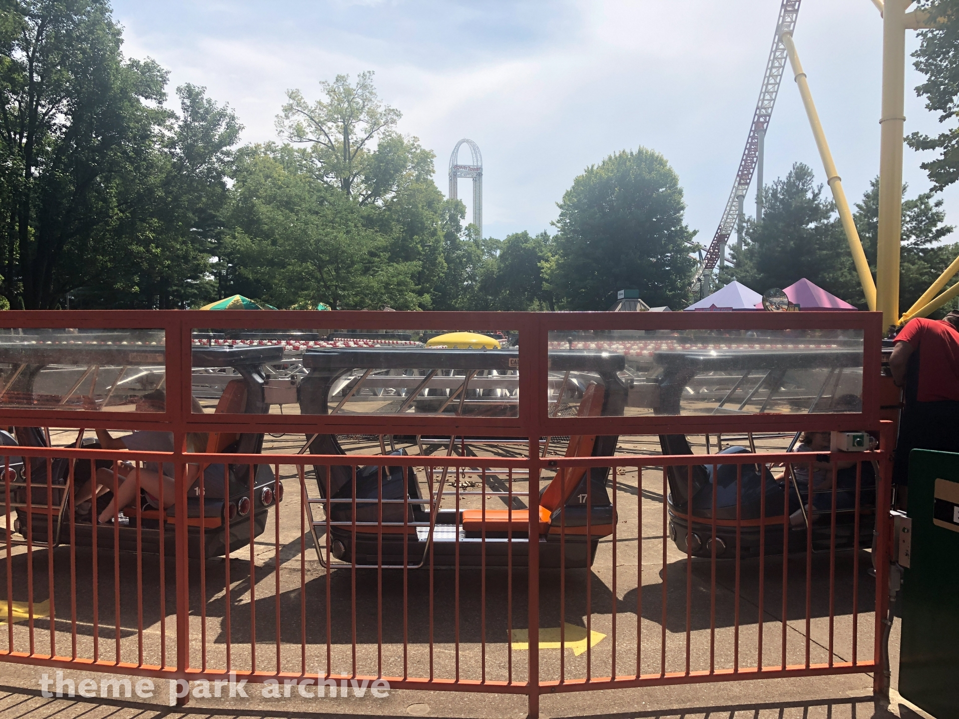 Witches' Wheel at Cedar Point