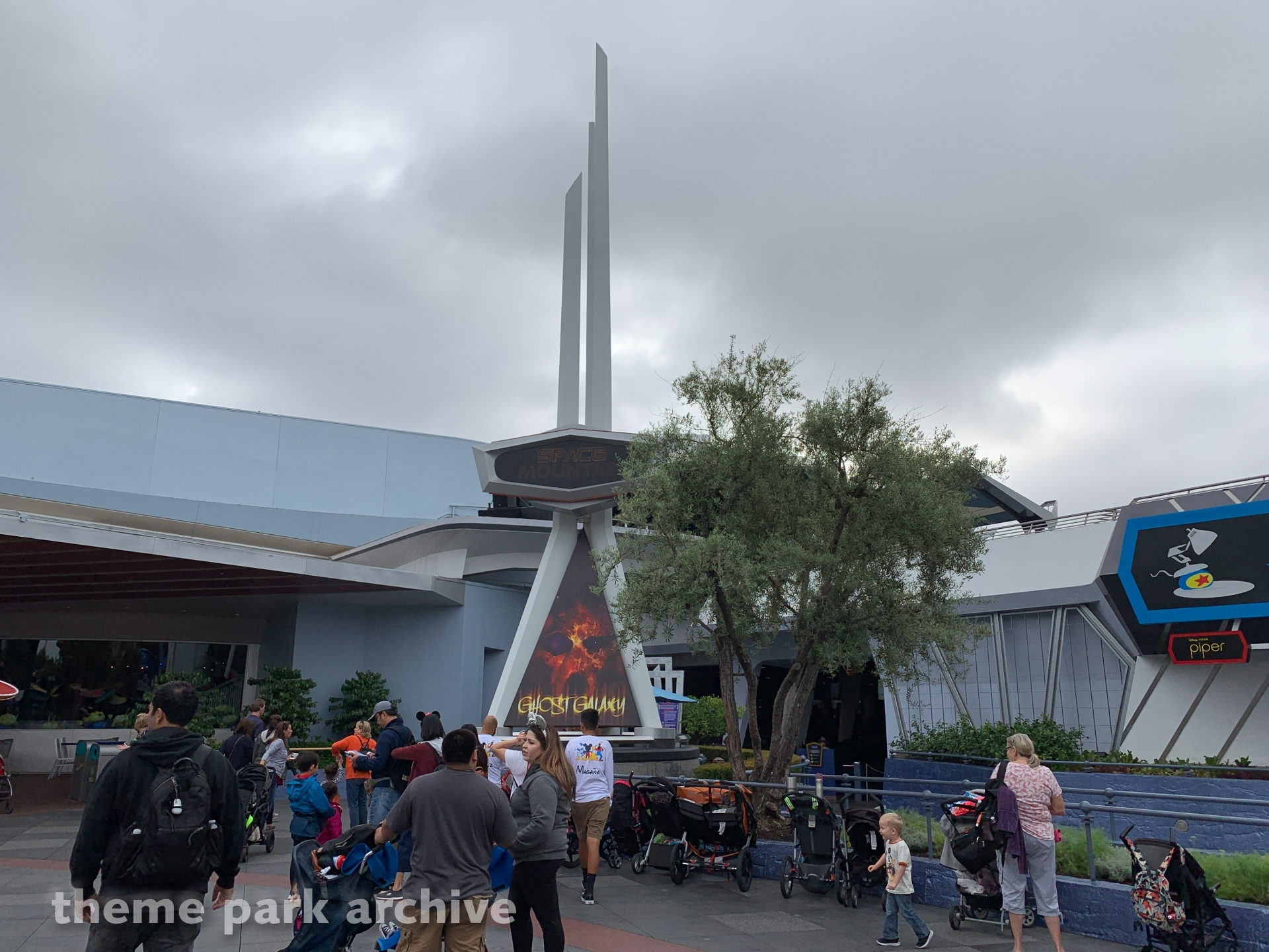 Space Mountain at Disneyland