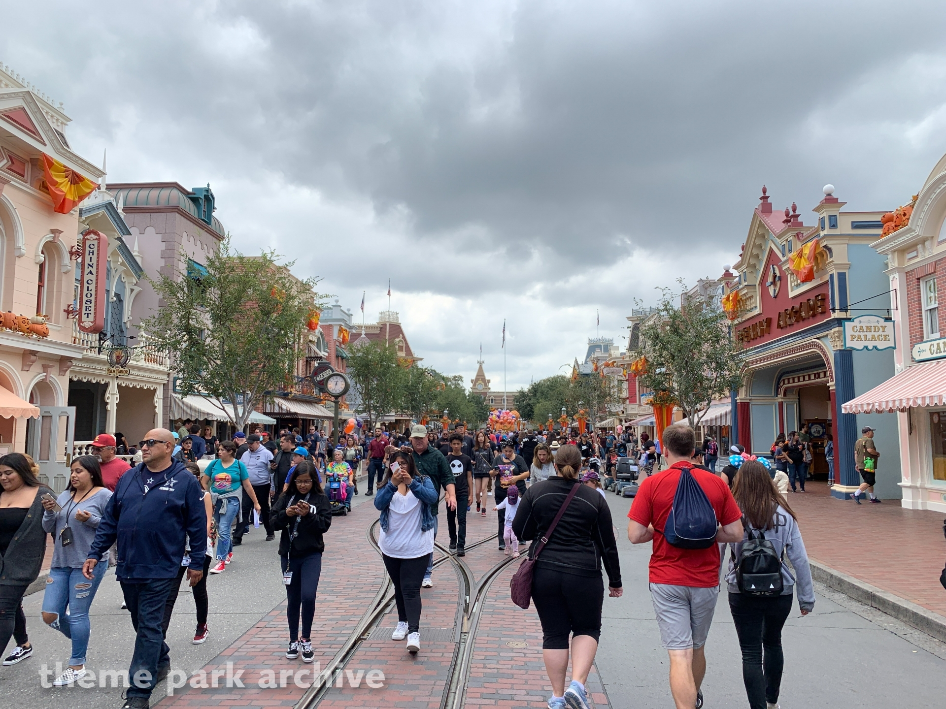 Main Street U.S.A. at Disneyland