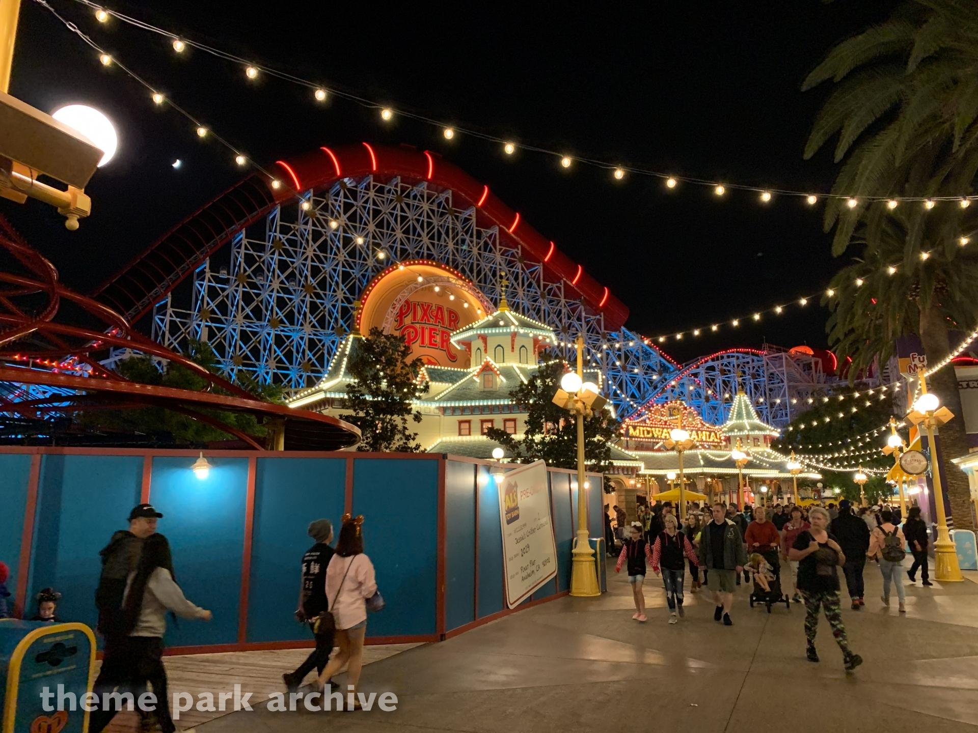 Pixar Pier at Disney California Adventure