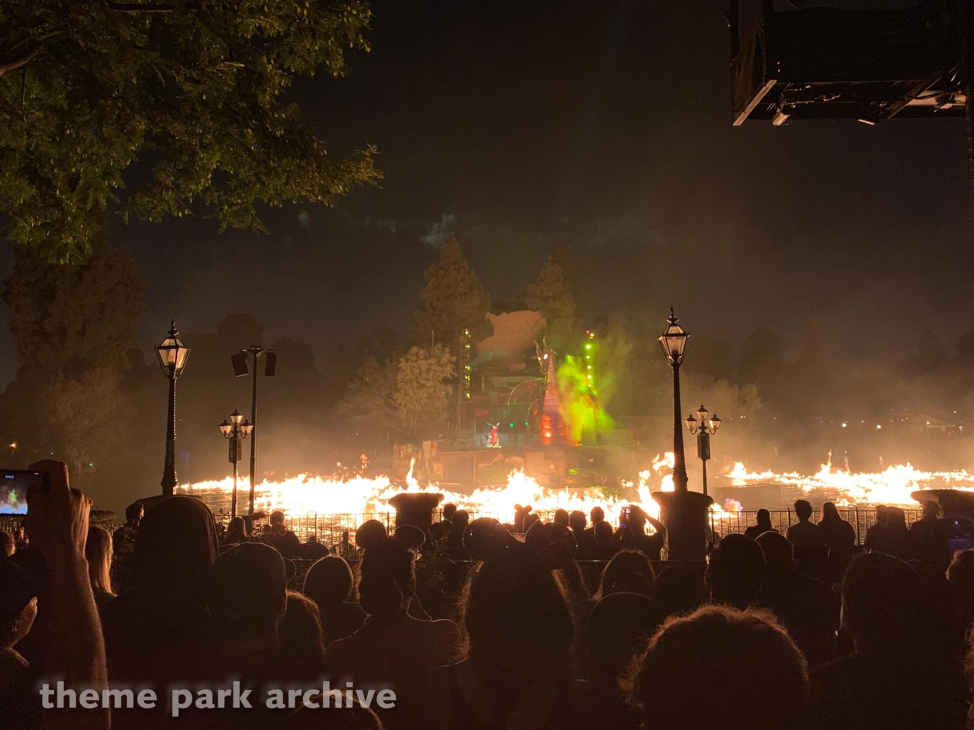 Fantasmic at Disneyland