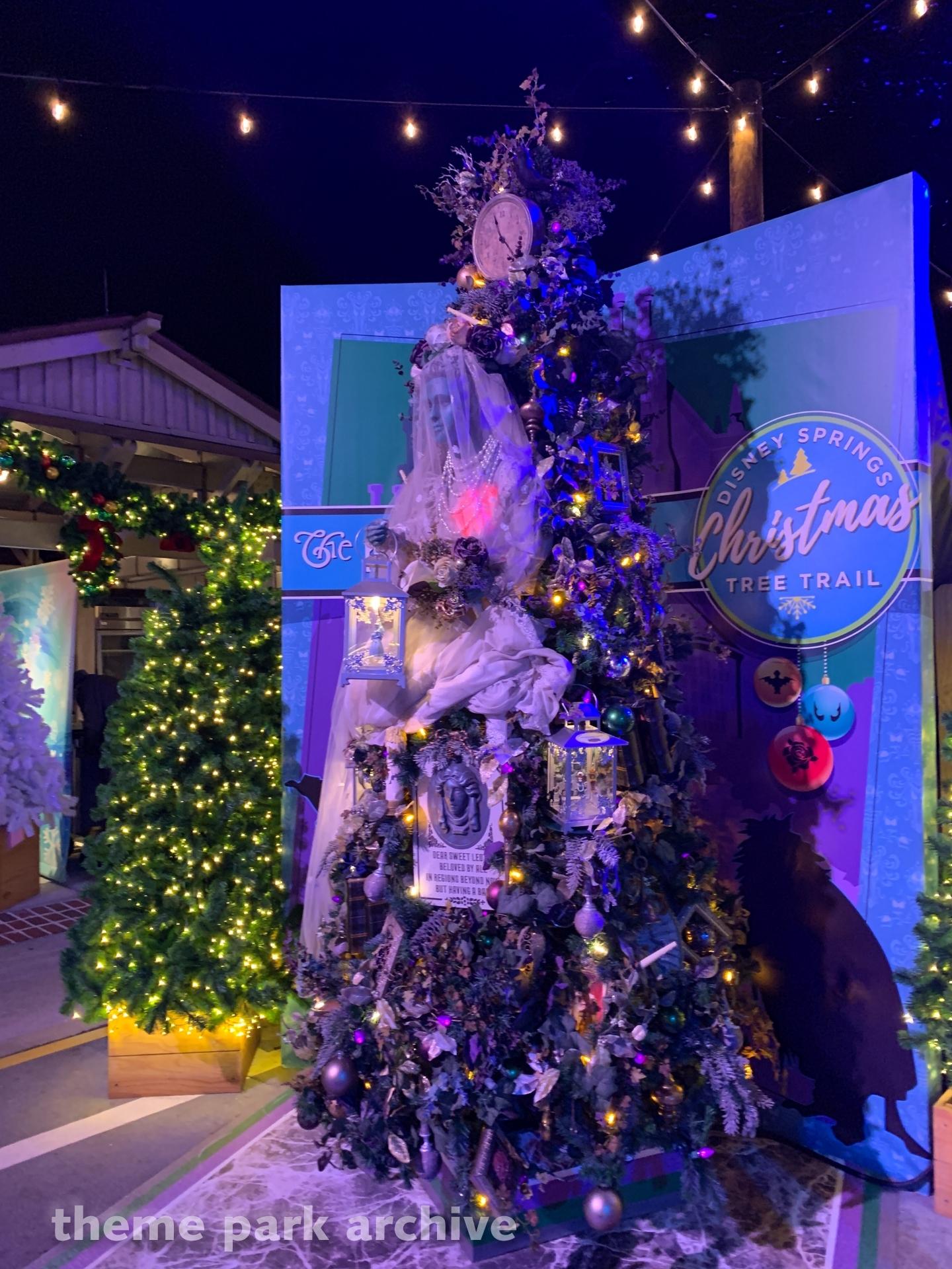Christmas Tree Trail at Disney Springs