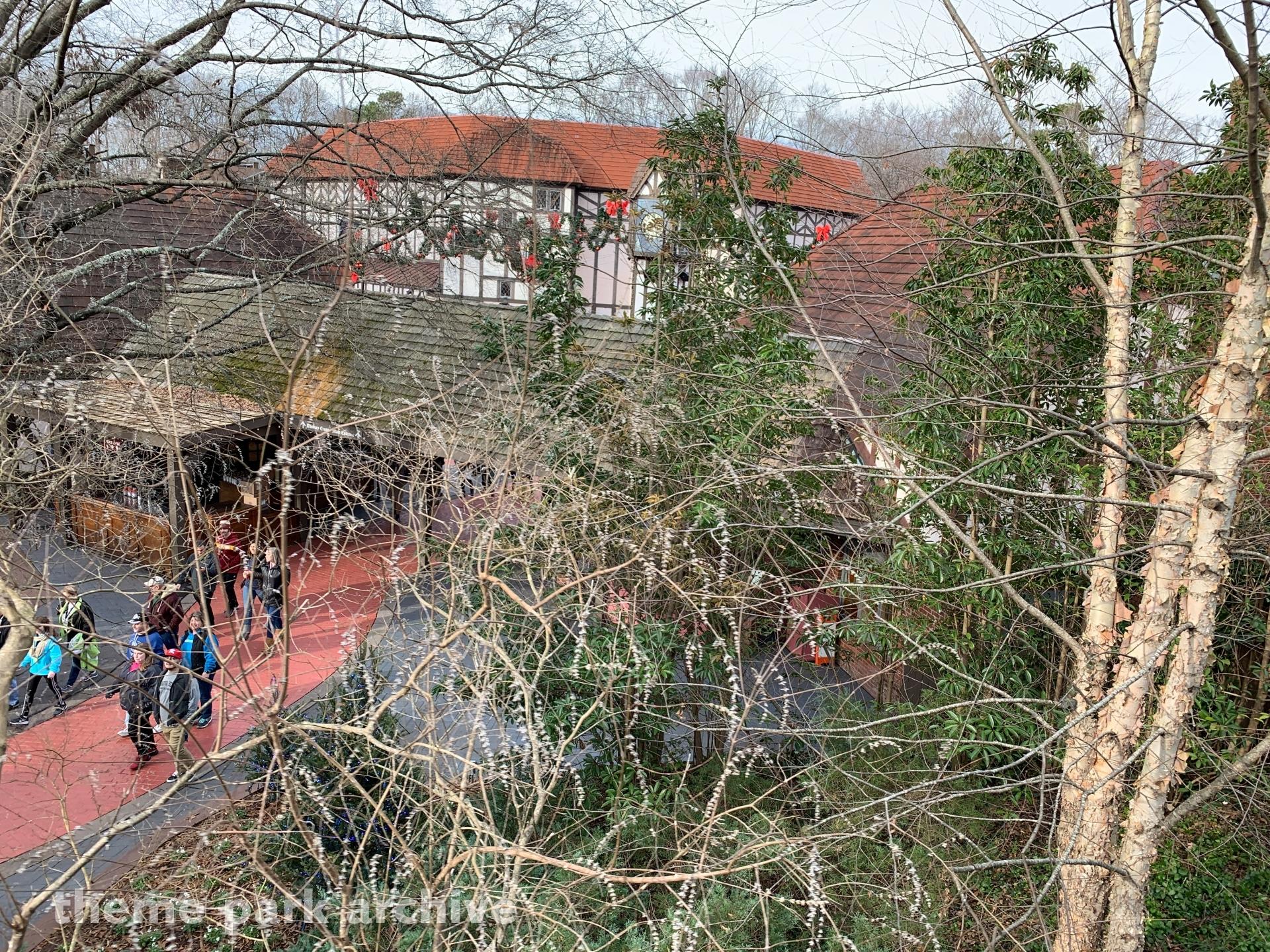 Skyride at Busch Gardens Williamsburg
