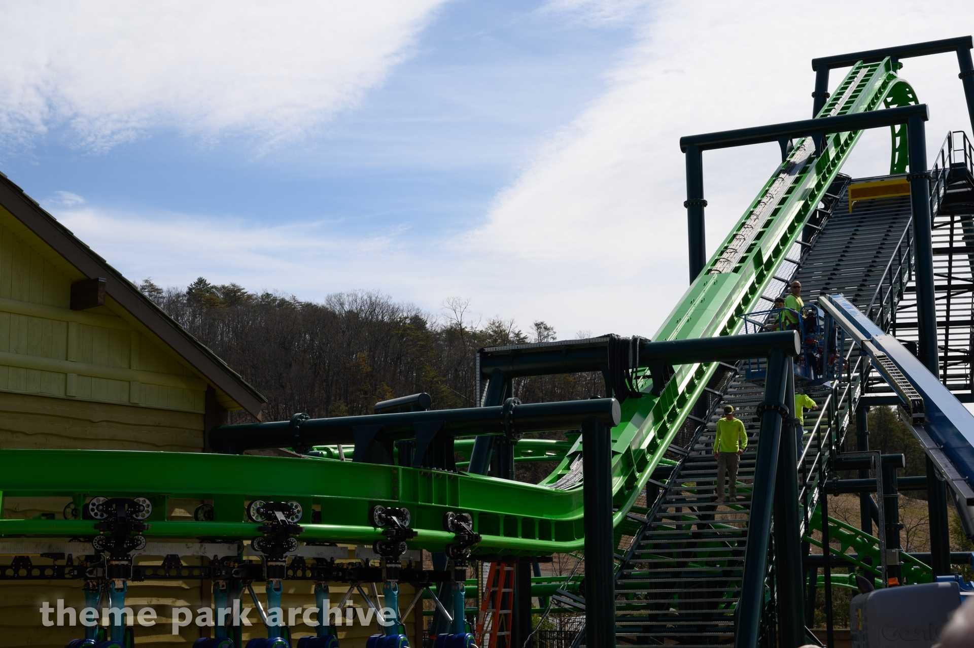 The Dragonflier at Dollywood
