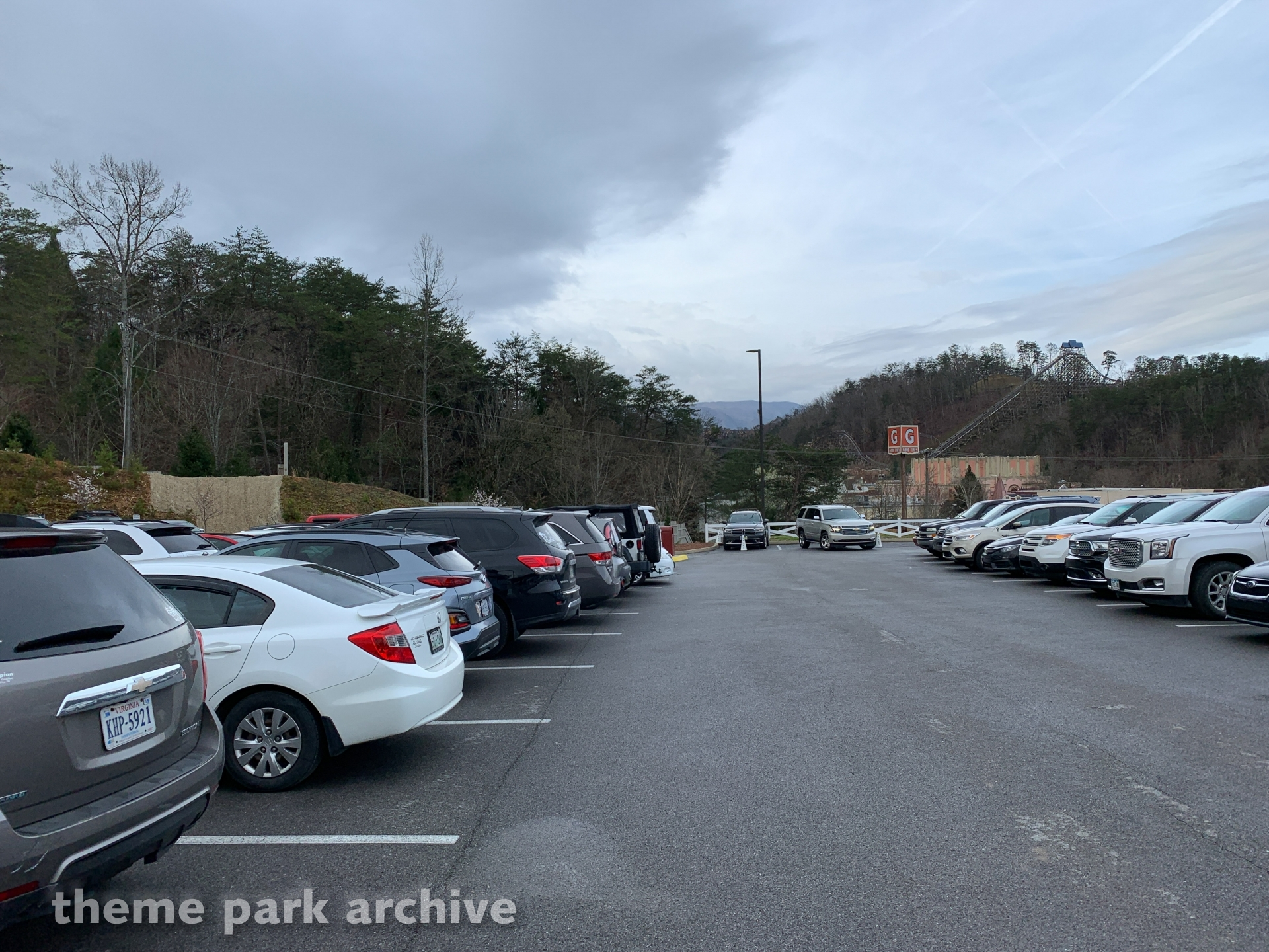 Parking at Dollywood