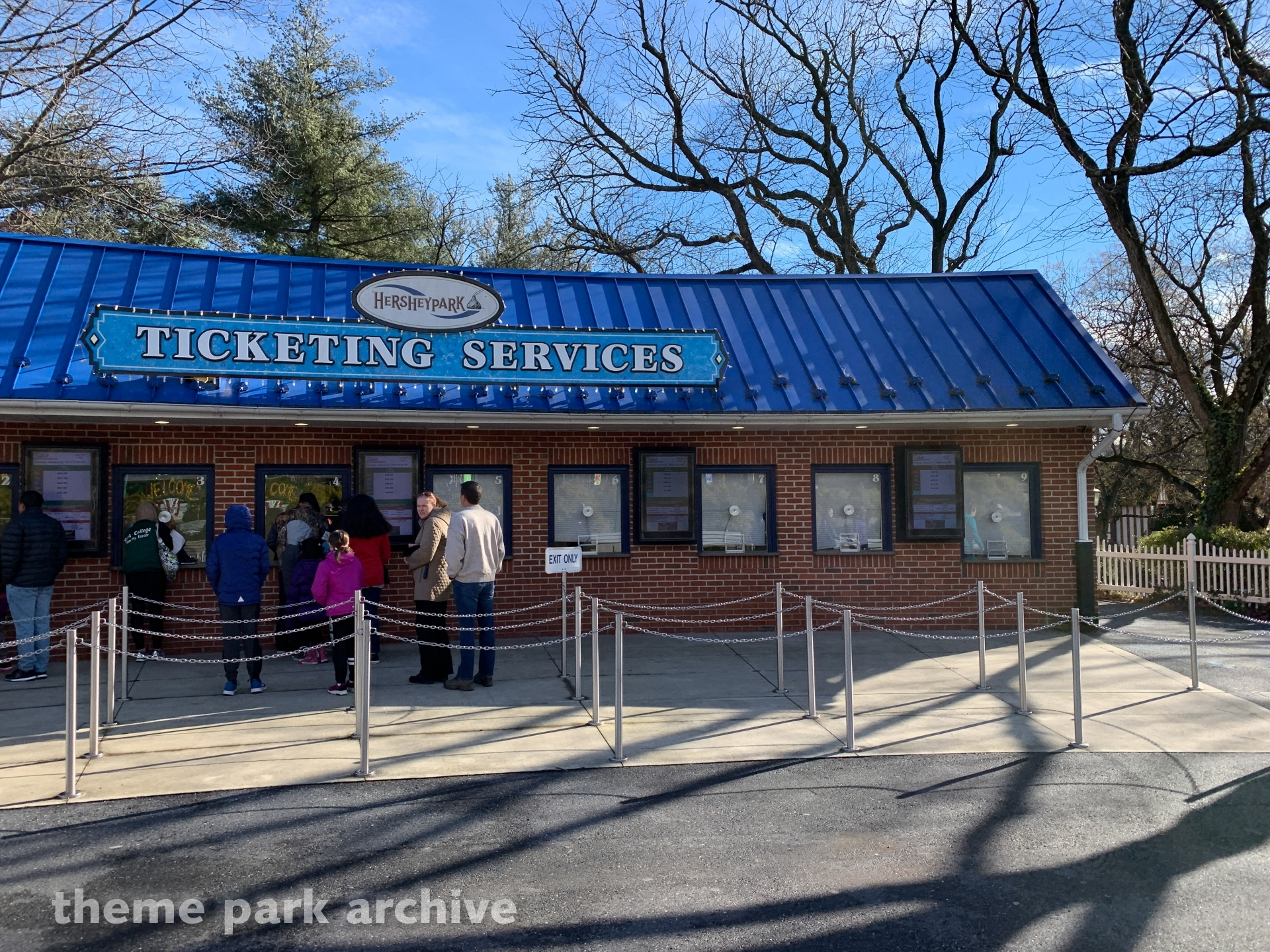 Entrance at Hersheypark