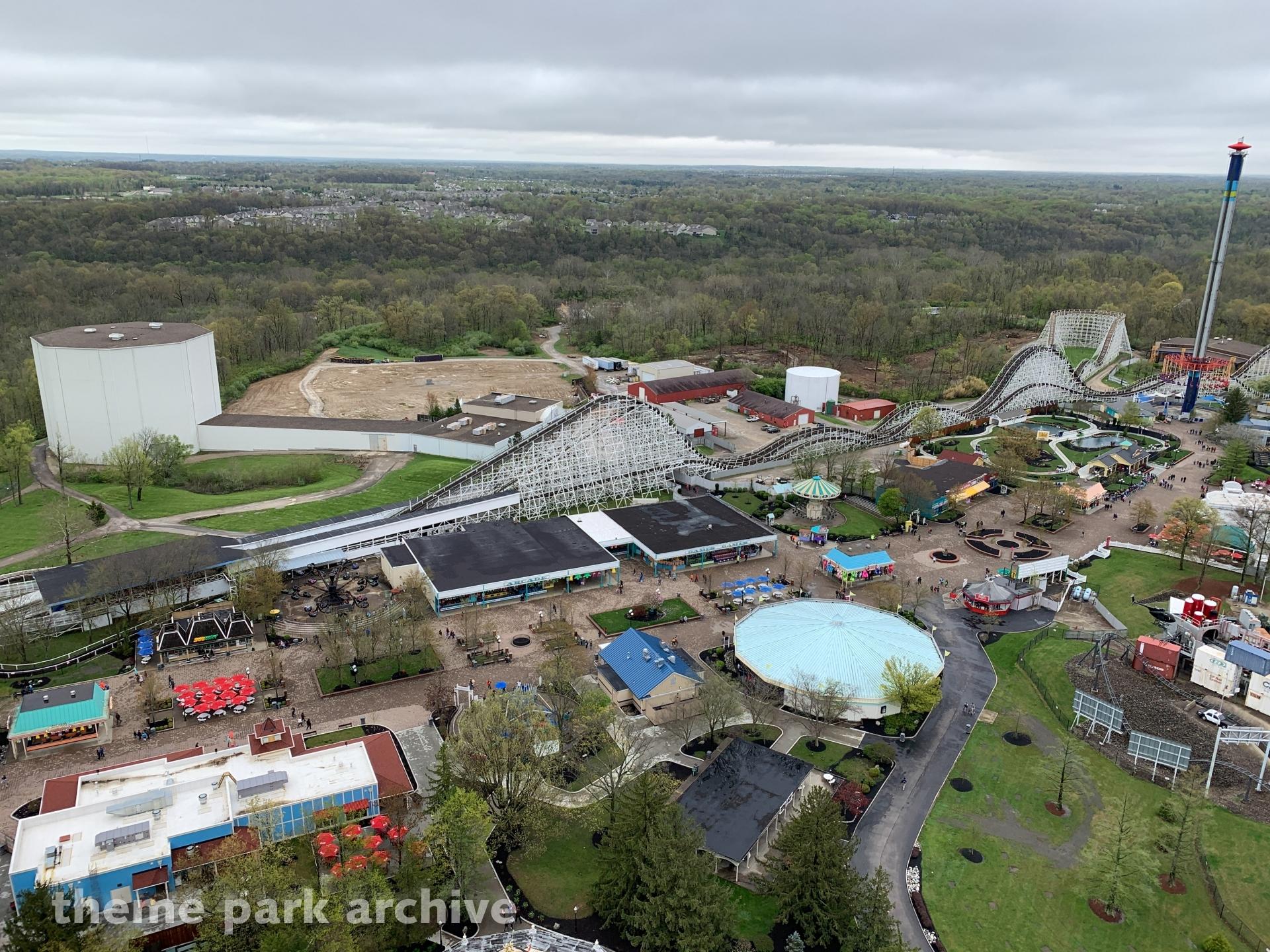 2020 Giga Coaster at Kings Island | Theme Park Archive