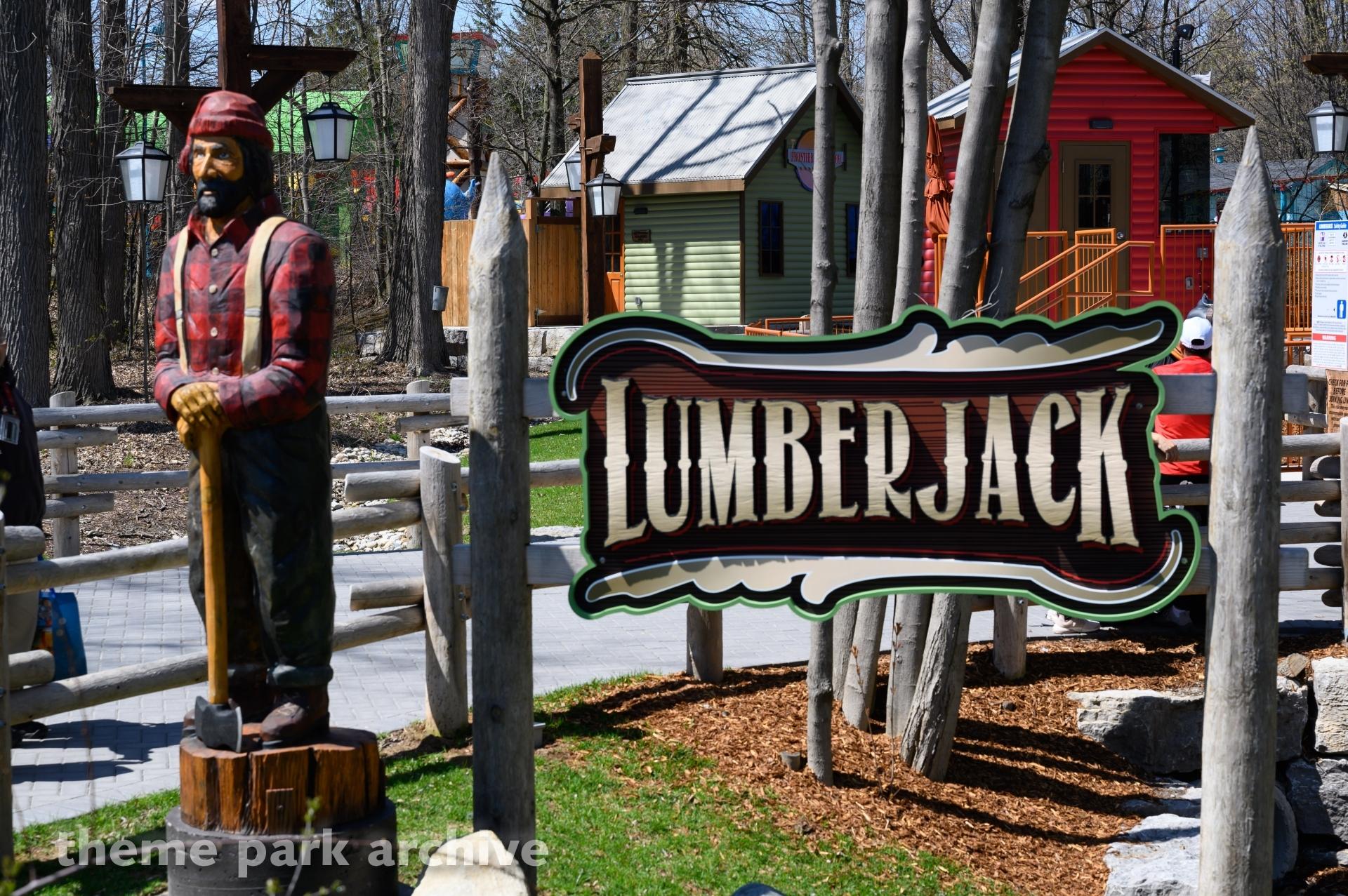 Lumberjack at Canada's Wonderland