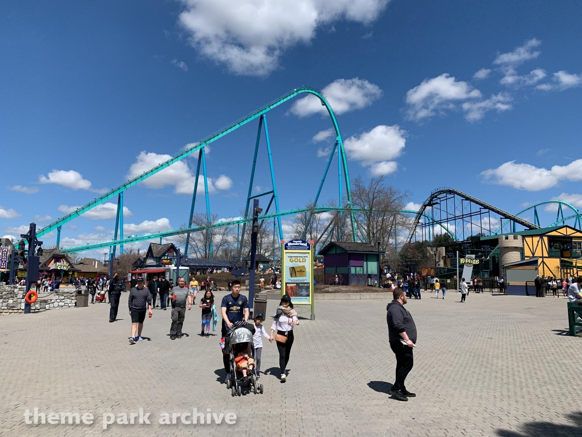 Leviathan at Canada's Wonderland