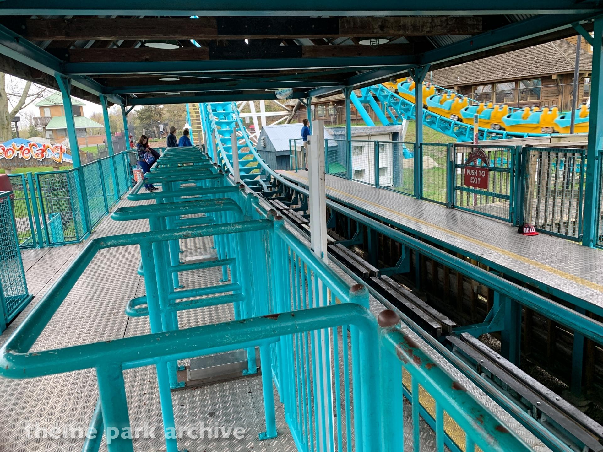 Boomerang at Six Flags Darien Lake