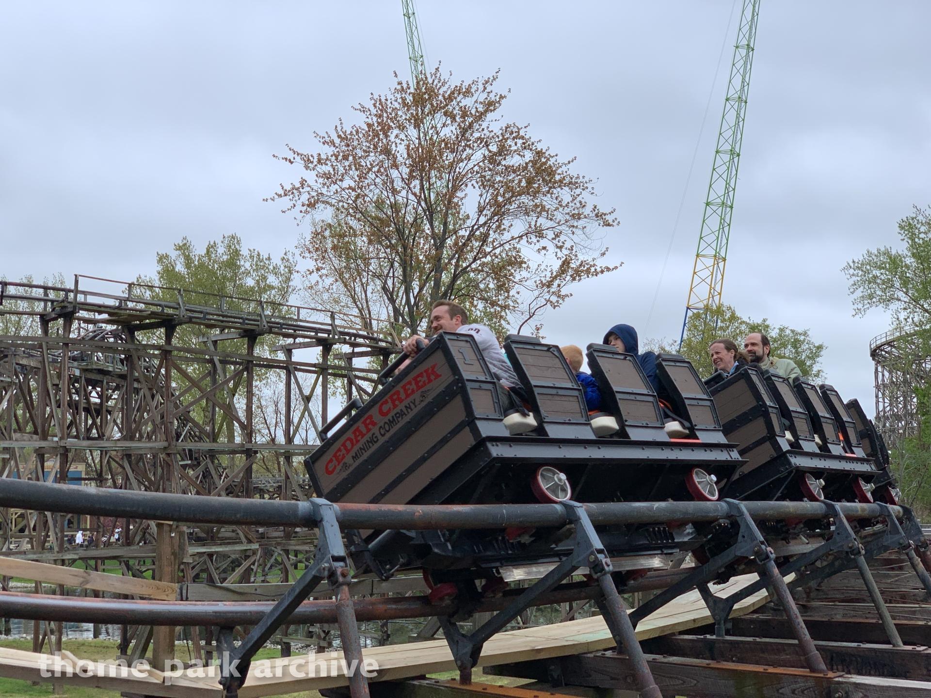 Cedar Creek Mine Ride at Cedar Point