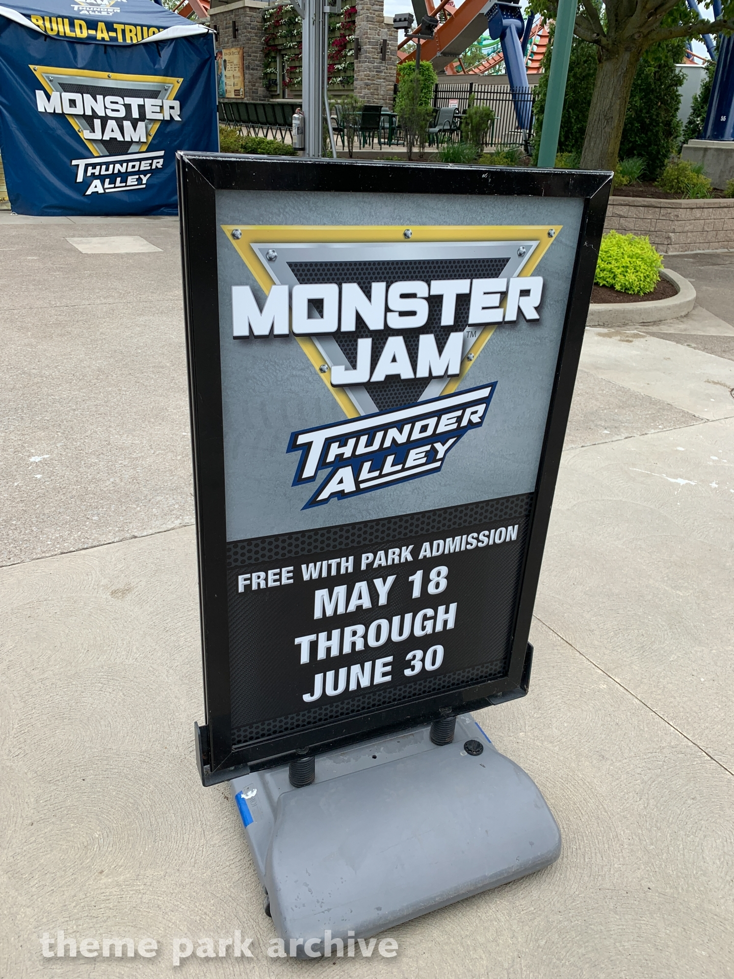 Monster Jam Thunder Alley at Cedar Point