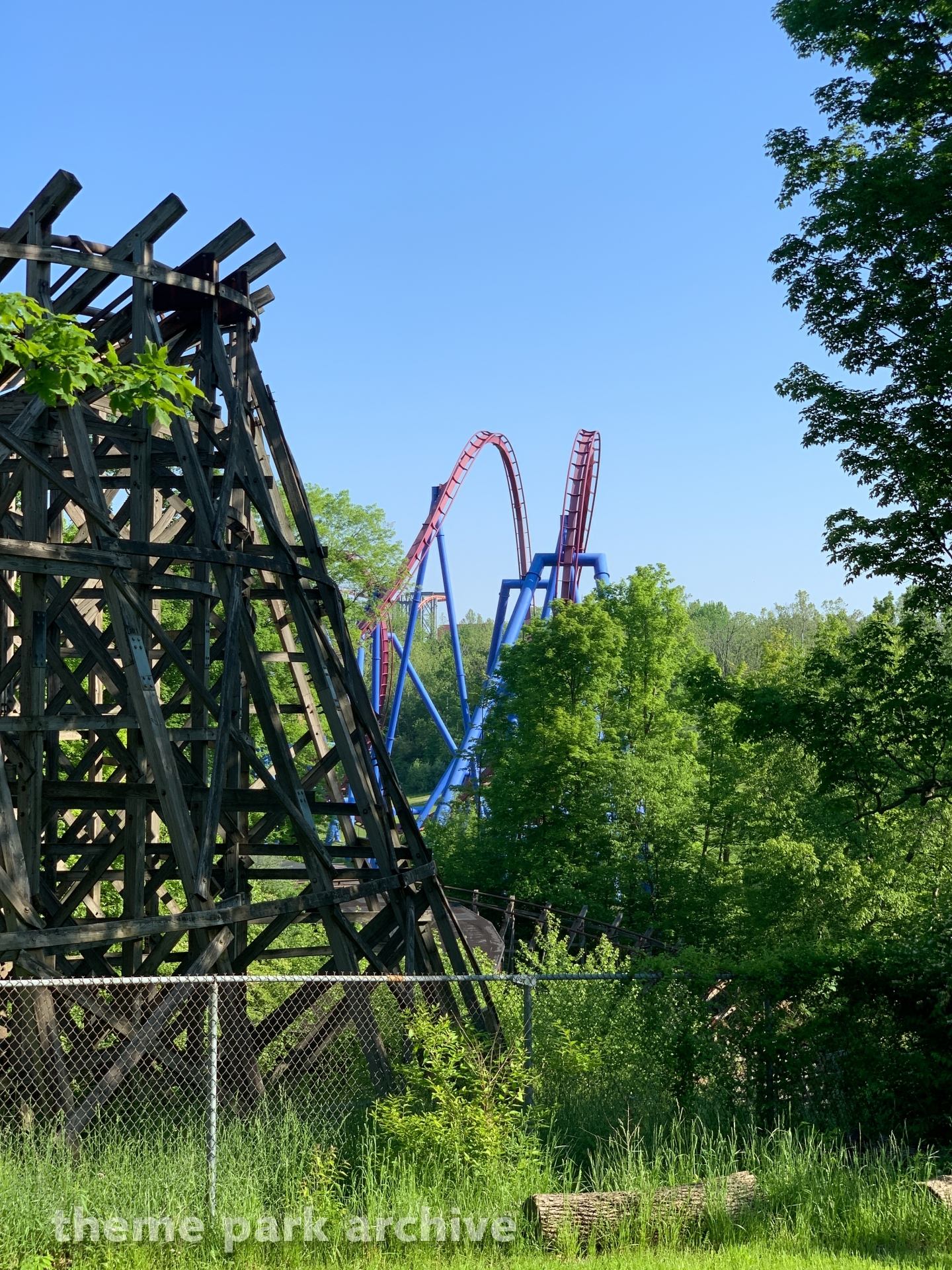 Adventure Express at Kings Island | Theme Park Archive