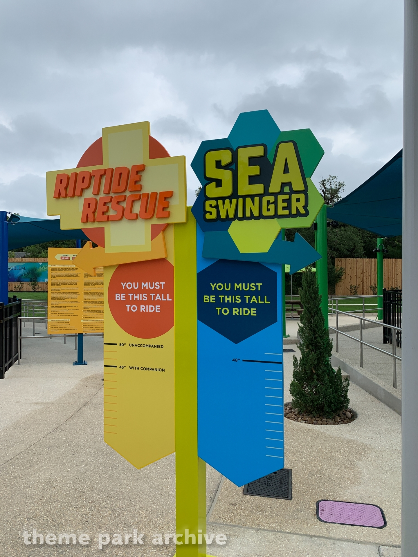 Sea Swinger at SeaWorld San Antonio