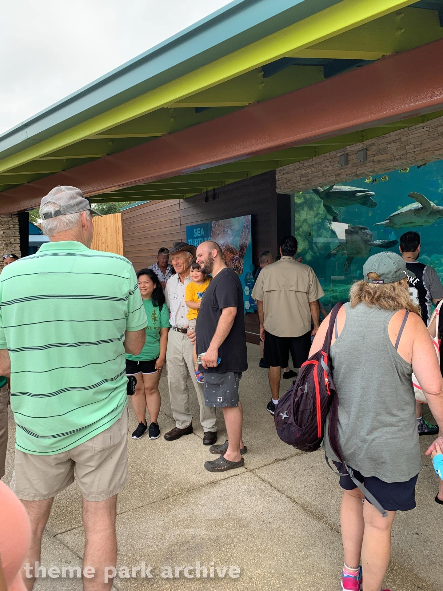 Turtle Reef at SeaWorld San Antonio
